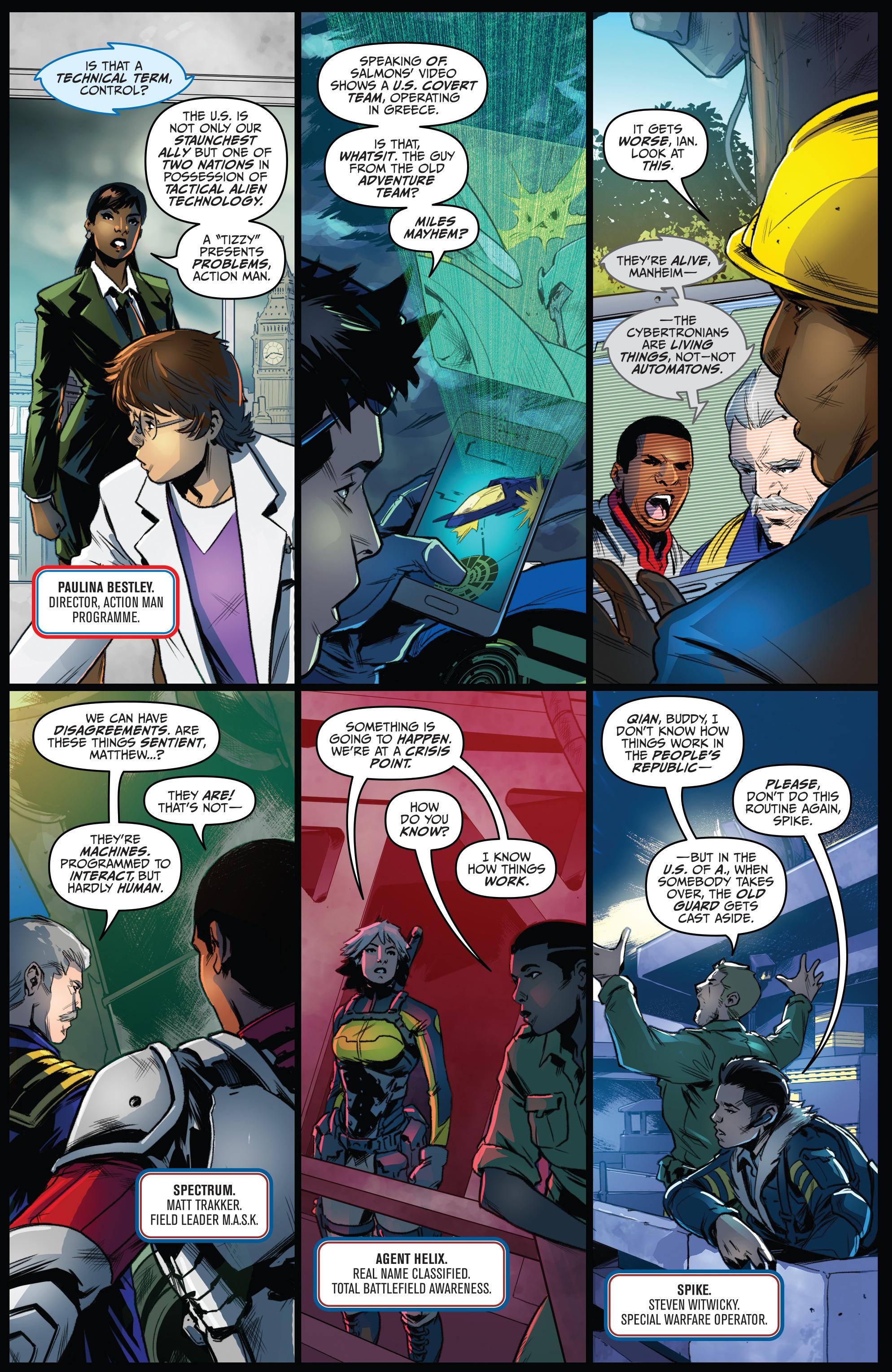 Read online Action Man: Revolution comic -  Issue #Action Man: Revolution Full - 6