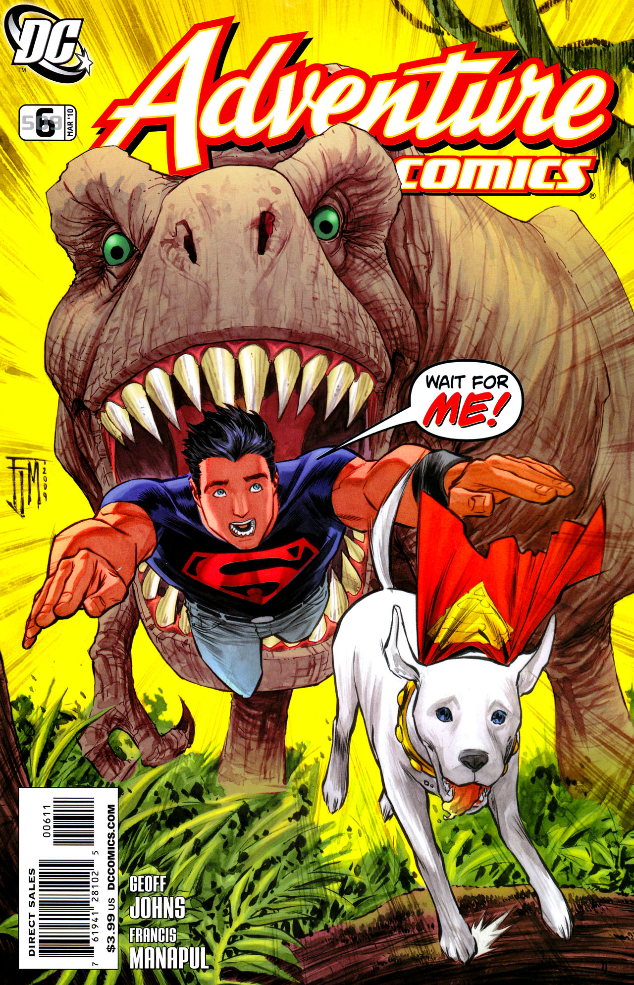 Read online Adventure Comics (2009) comic -  Issue #6 - 1