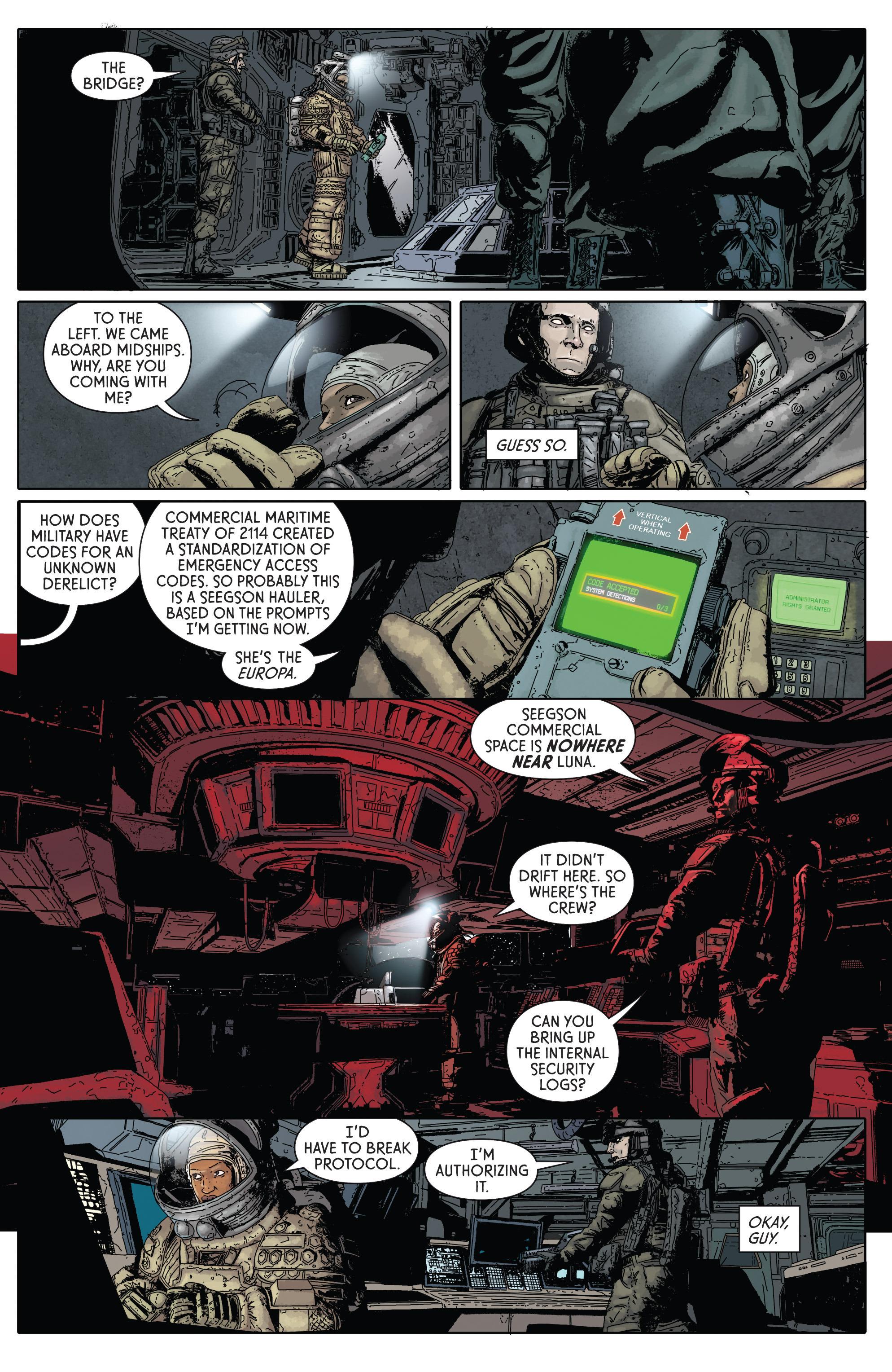 Read online Aliens: Defiance comic -  Issue #1 - 14