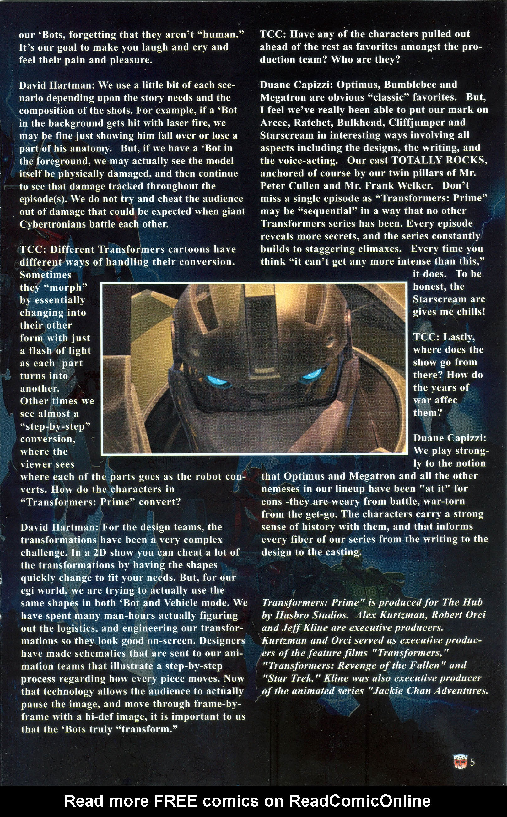 Read online Transformers: Collectors' Club comic -  Issue #36 - 5