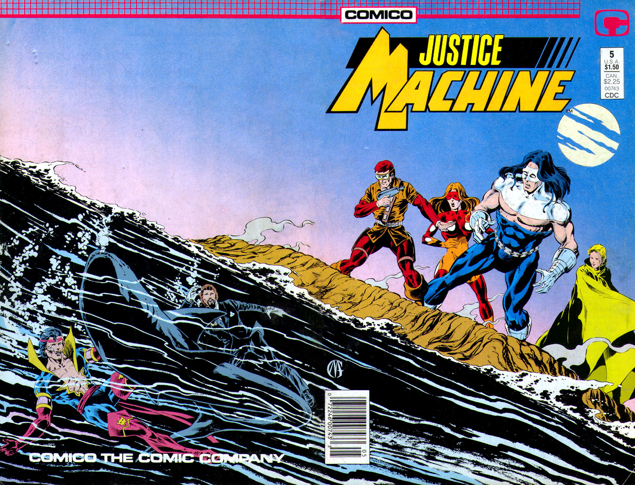 Justice Machine 5 Page 1