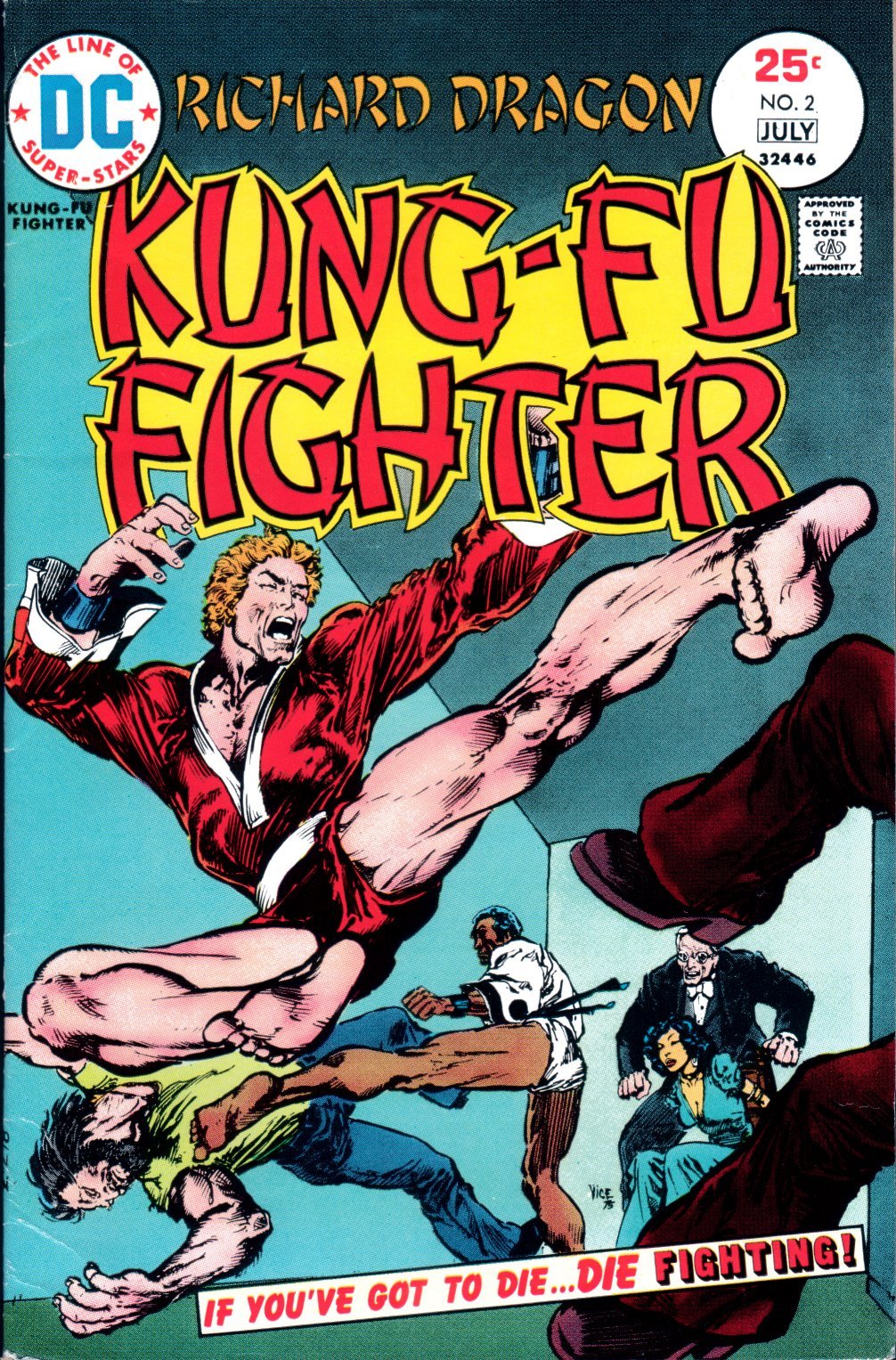 Richard Dragon, Kung-Fu Fighter 2 Page 1