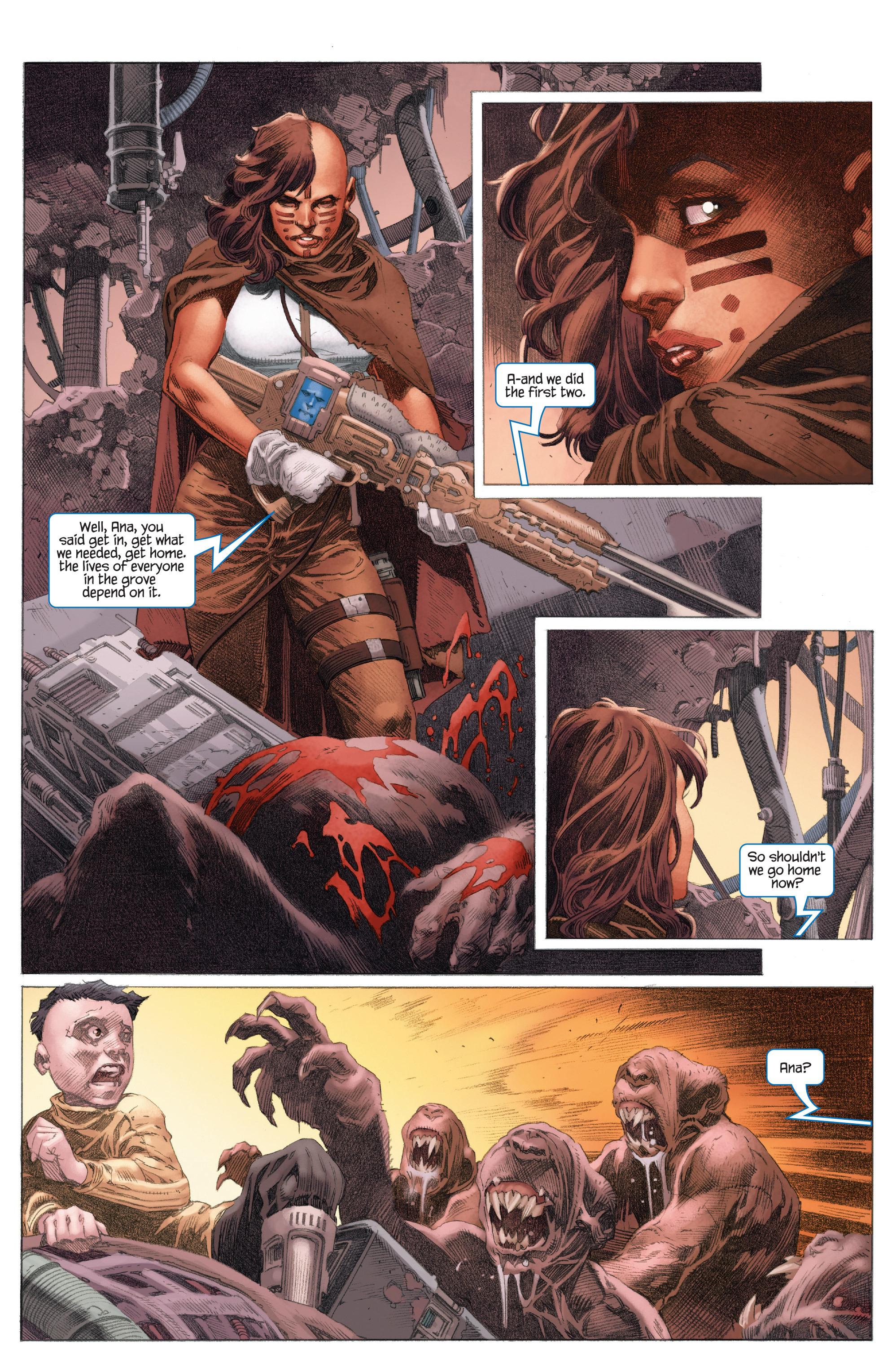 Read online 4001 A.D.: War Mother comic -  Issue #4001 A.D.: War Mother Full - 18