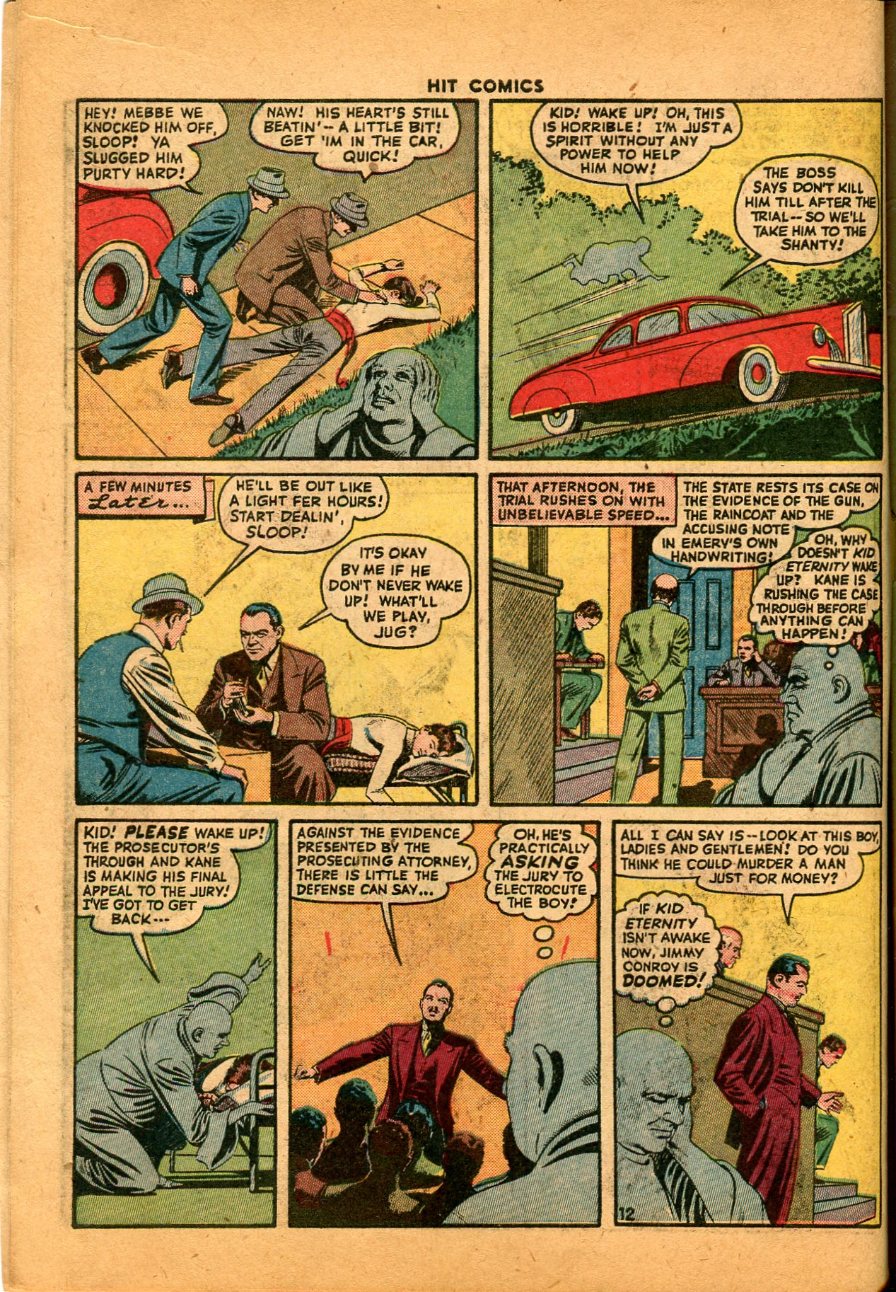 Read online Hit Comics comic -  Issue #35 - 14