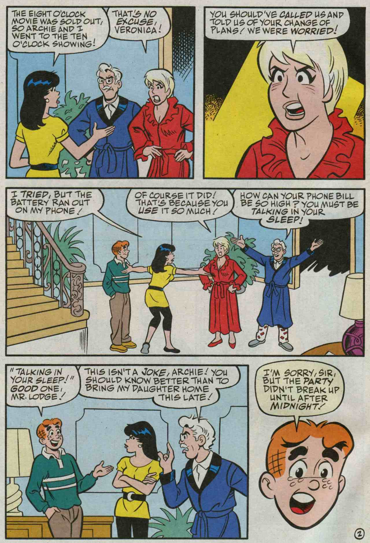 Read online Archie's Girls Betty and Veronica comic -  Issue #235 - 3