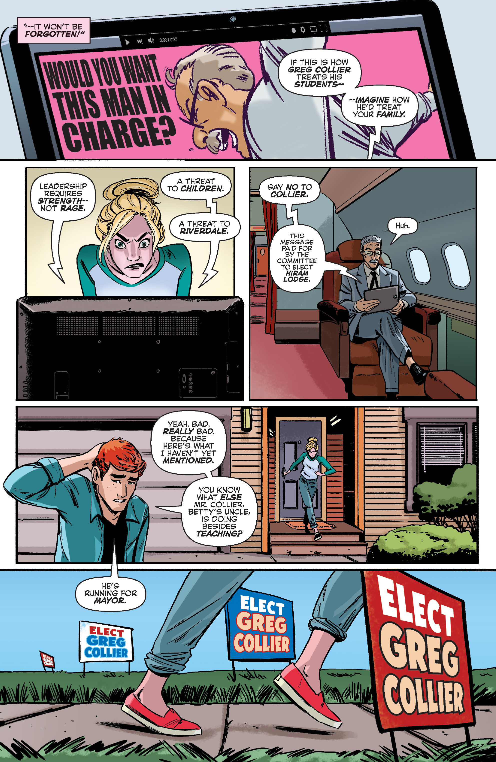 Read online Archie (2015) comic -  Issue #10 - 10