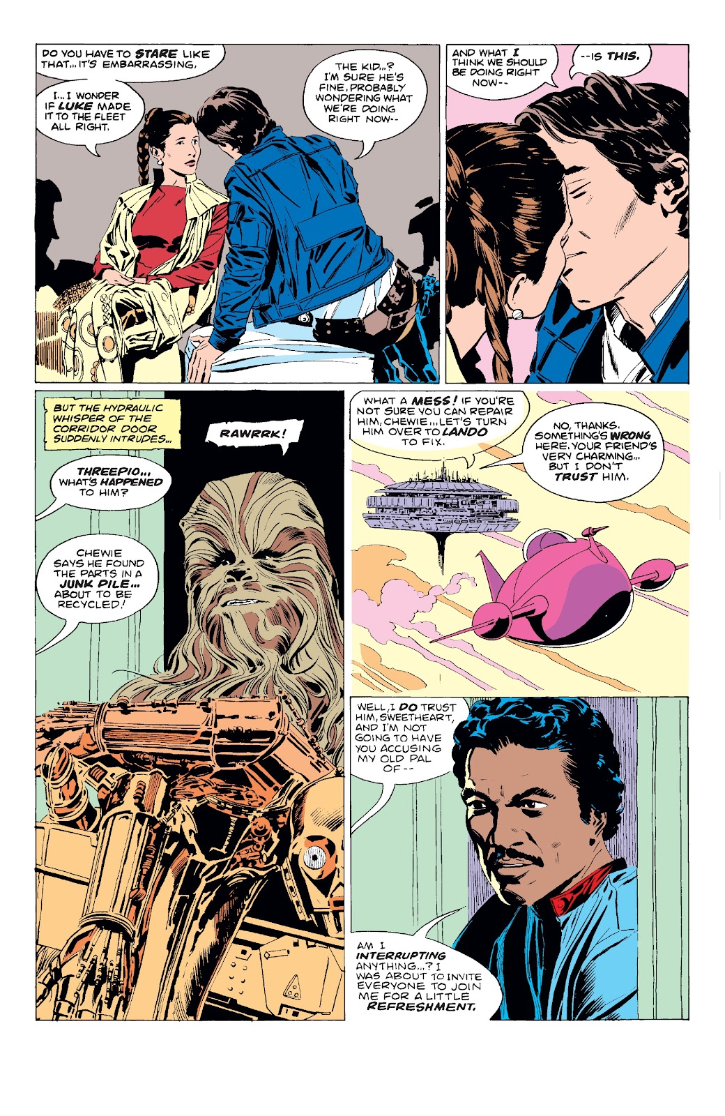 Read online Star Wars Legends: The Original Marvel Years - Epic Collection comic -  Issue # TPB 3 (Part 1) - 85