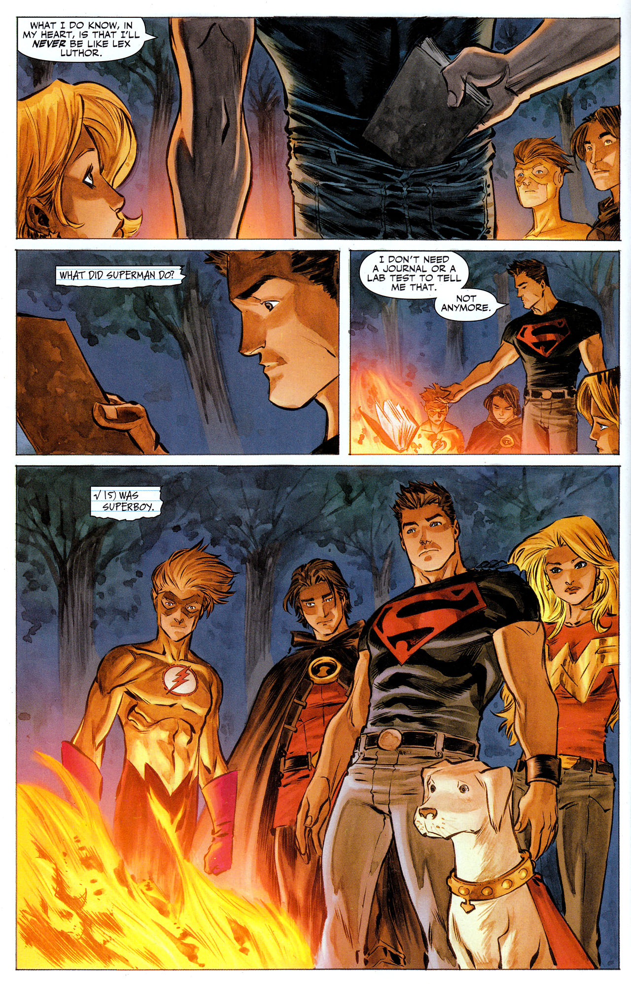 Read online Adventure Comics (2009) comic -  Issue #6 - 30