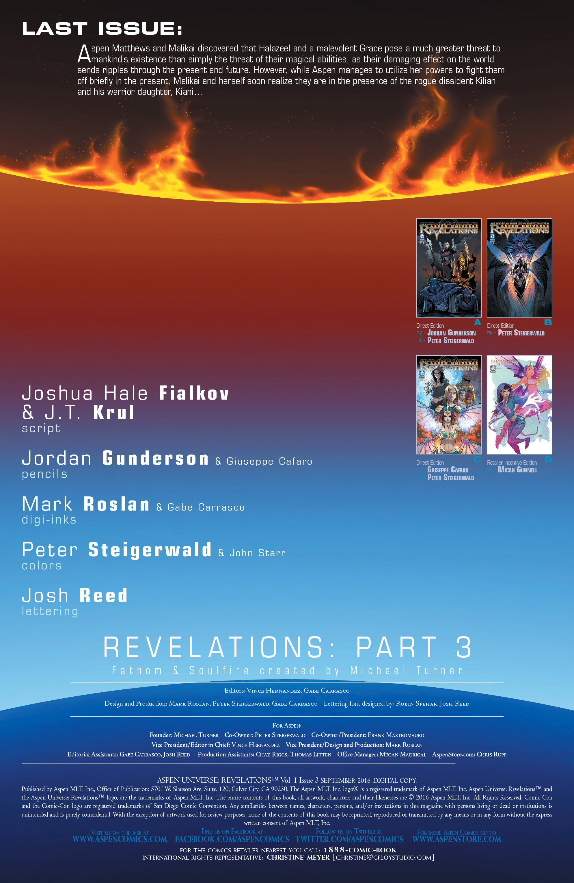 Read online Aspen Universe: Revelations comic -  Issue #3 - 4