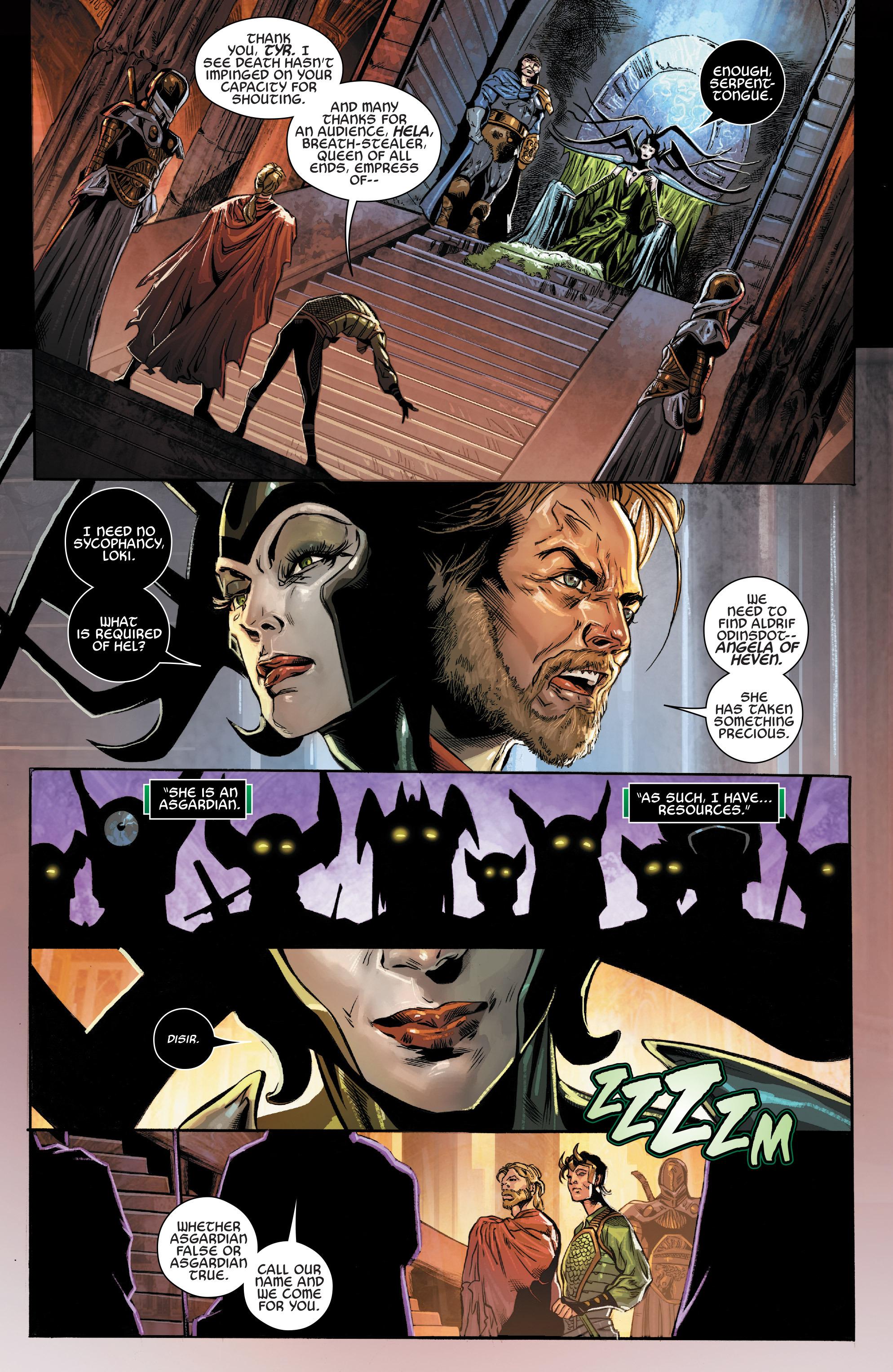 Read online Angela: Asgard's Assassin comic -  Issue #3 - 21