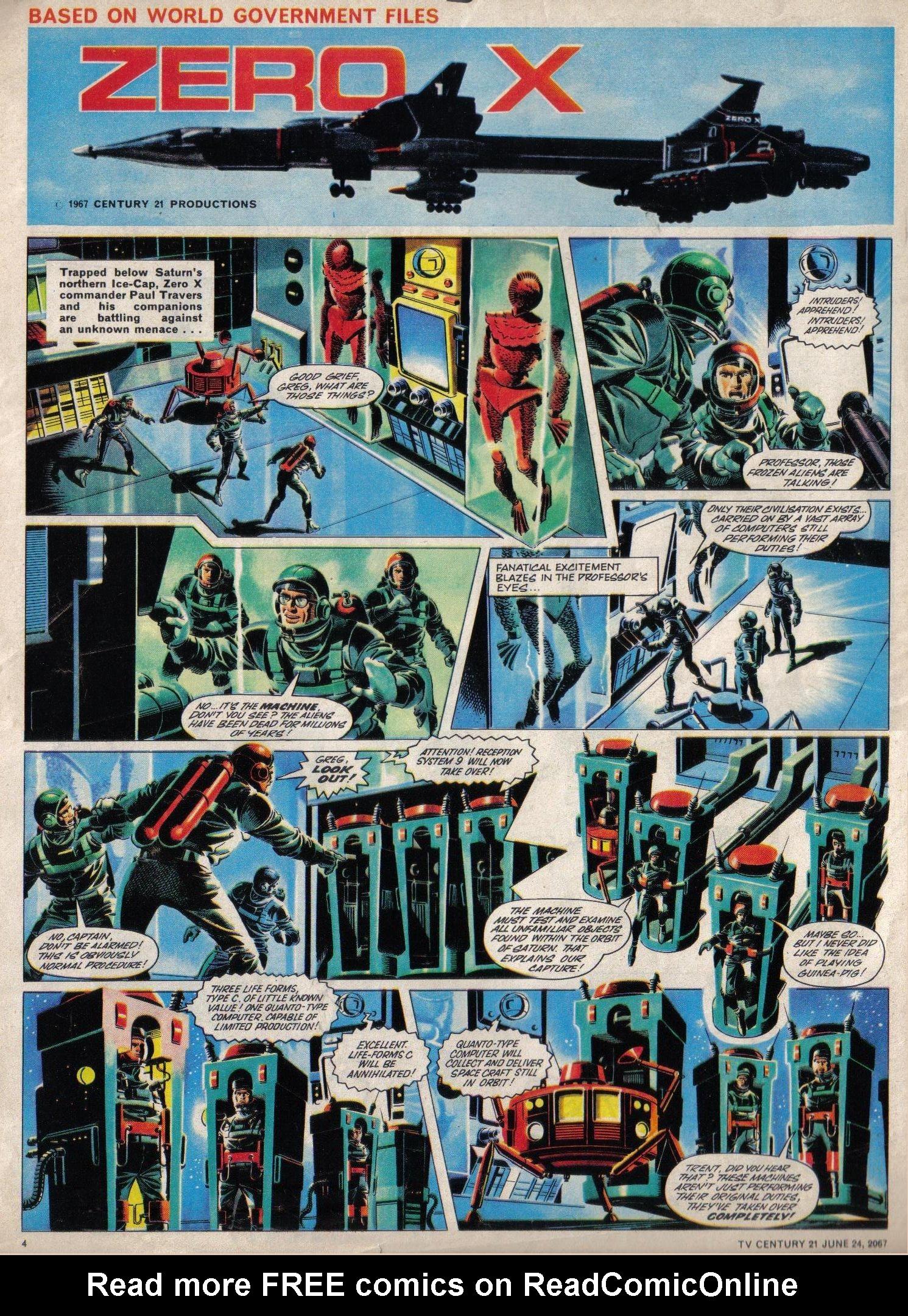 Read online TV Century 21 (TV 21) comic -  Issue #127 - 4