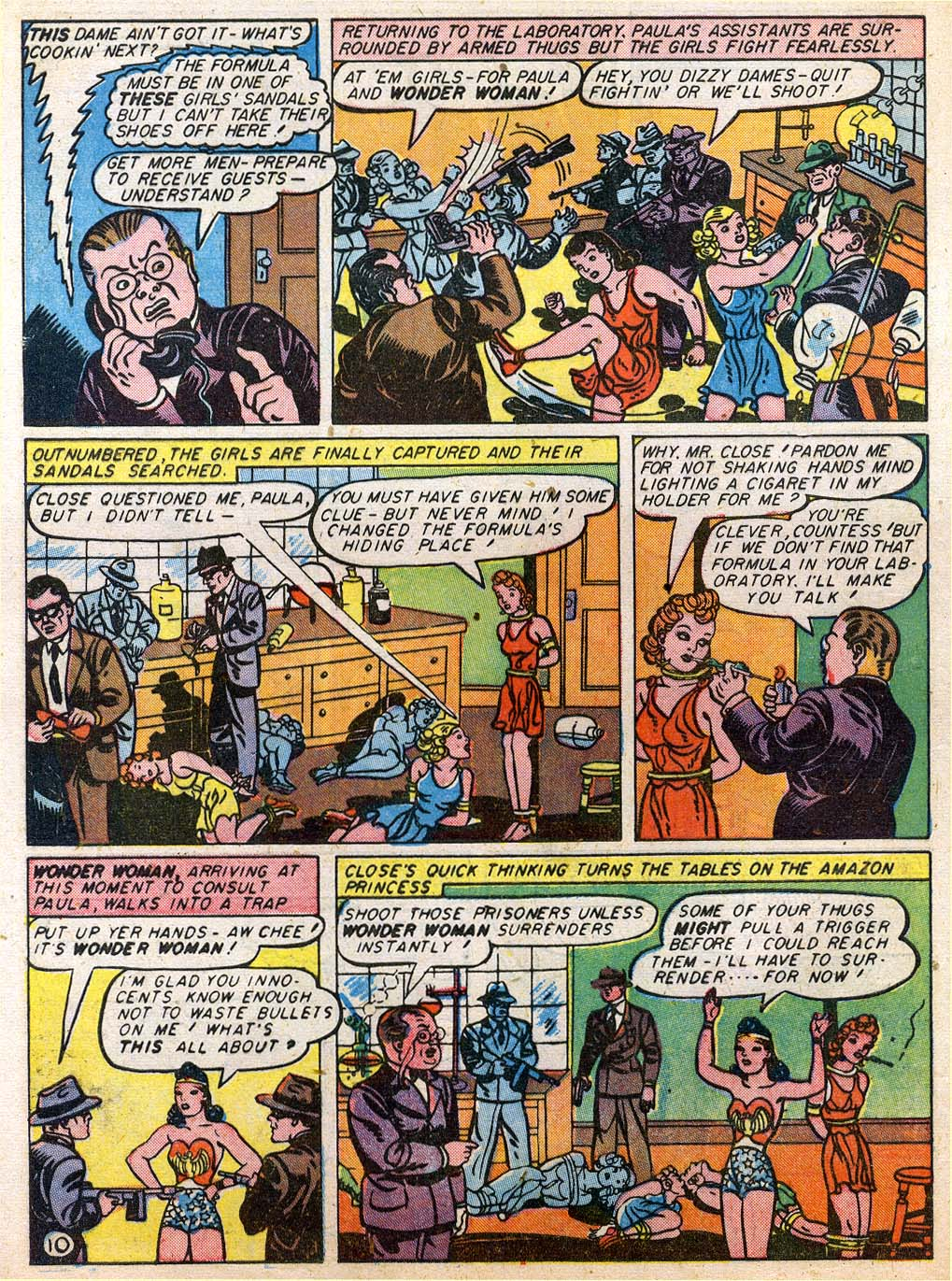 Read online Sensation (Mystery) Comics comic -  Issue #27 - 12