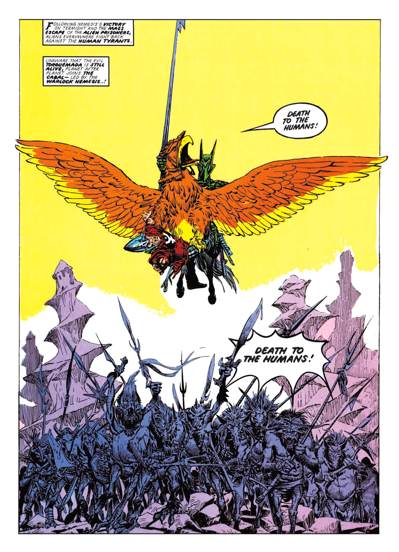 Read online Nemesis The Warlock comic -  Issue # TPB Deviant Edition - 111