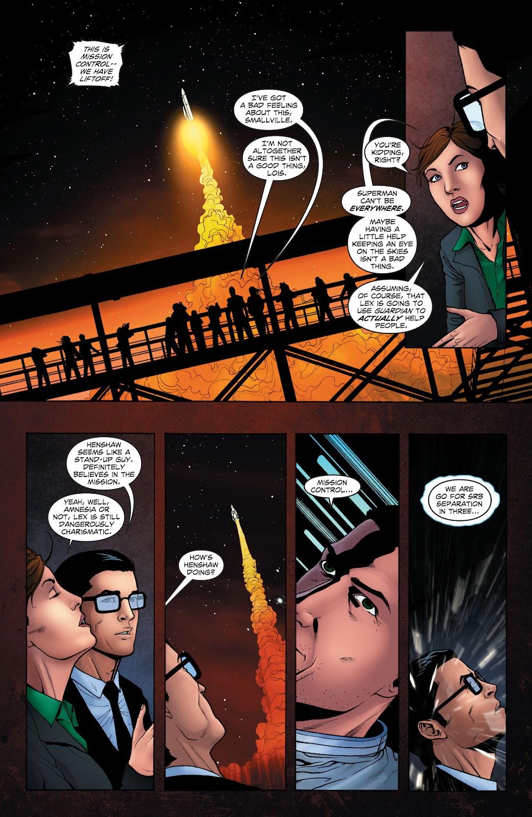 Read online Smallville Season 11 [II] comic -  Issue # TPB 1 - 56