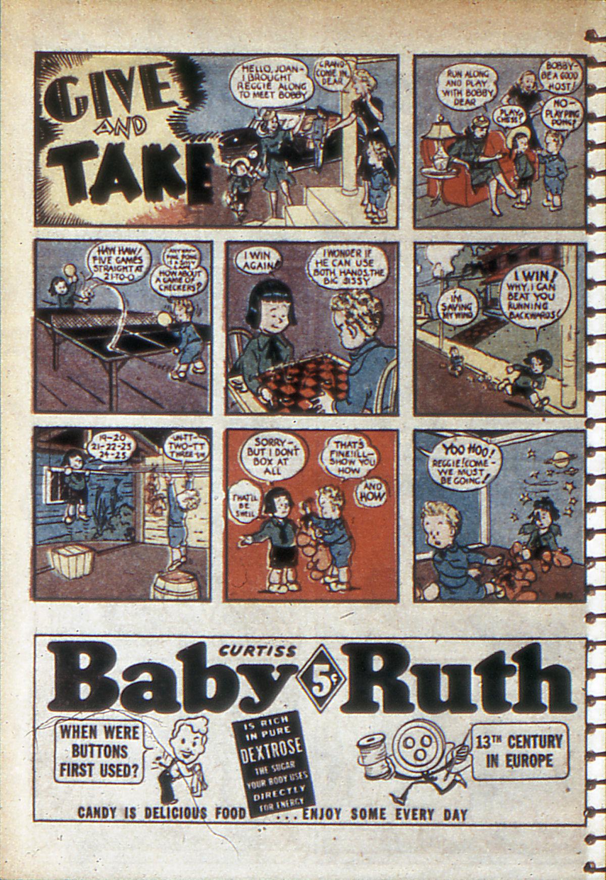 Read online Adventure Comics (1938) comic -  Issue #53 - 57