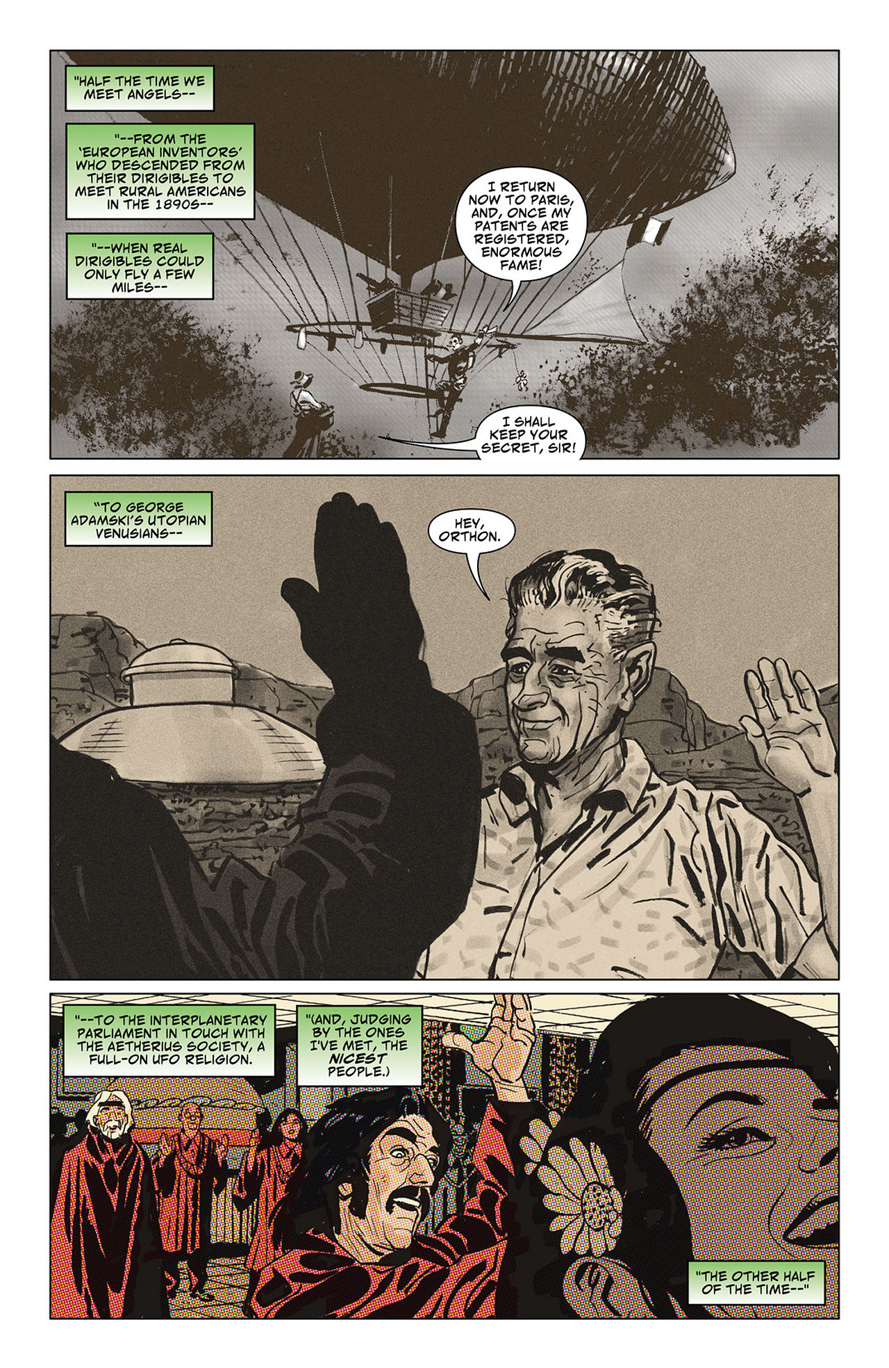 Read online Saucer Country comic -  Issue #6 - 9
