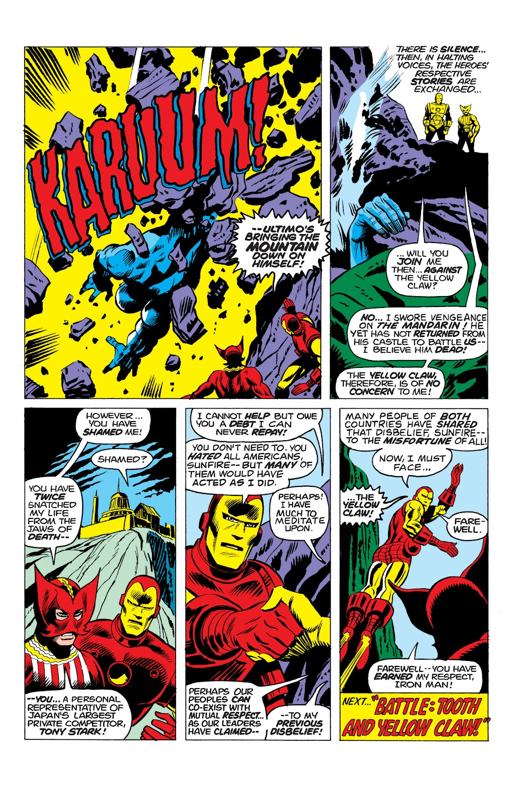 Read online Marvel Masterworks: The Invincible Iron Man comic -  Issue # TPB 10 (Part 1) - 61