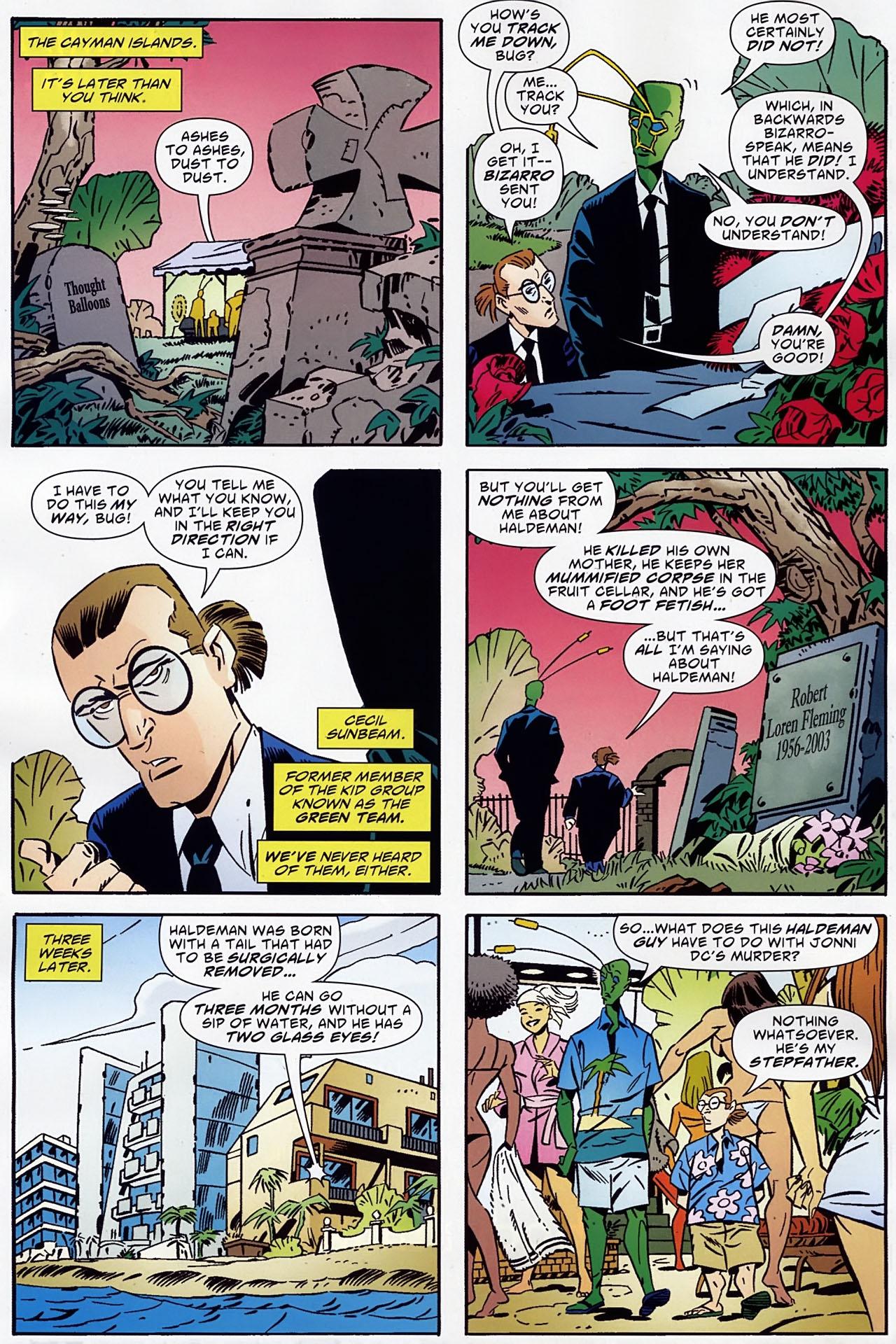 Read online Ambush Bug: Year None comic -  Issue #1 - 10