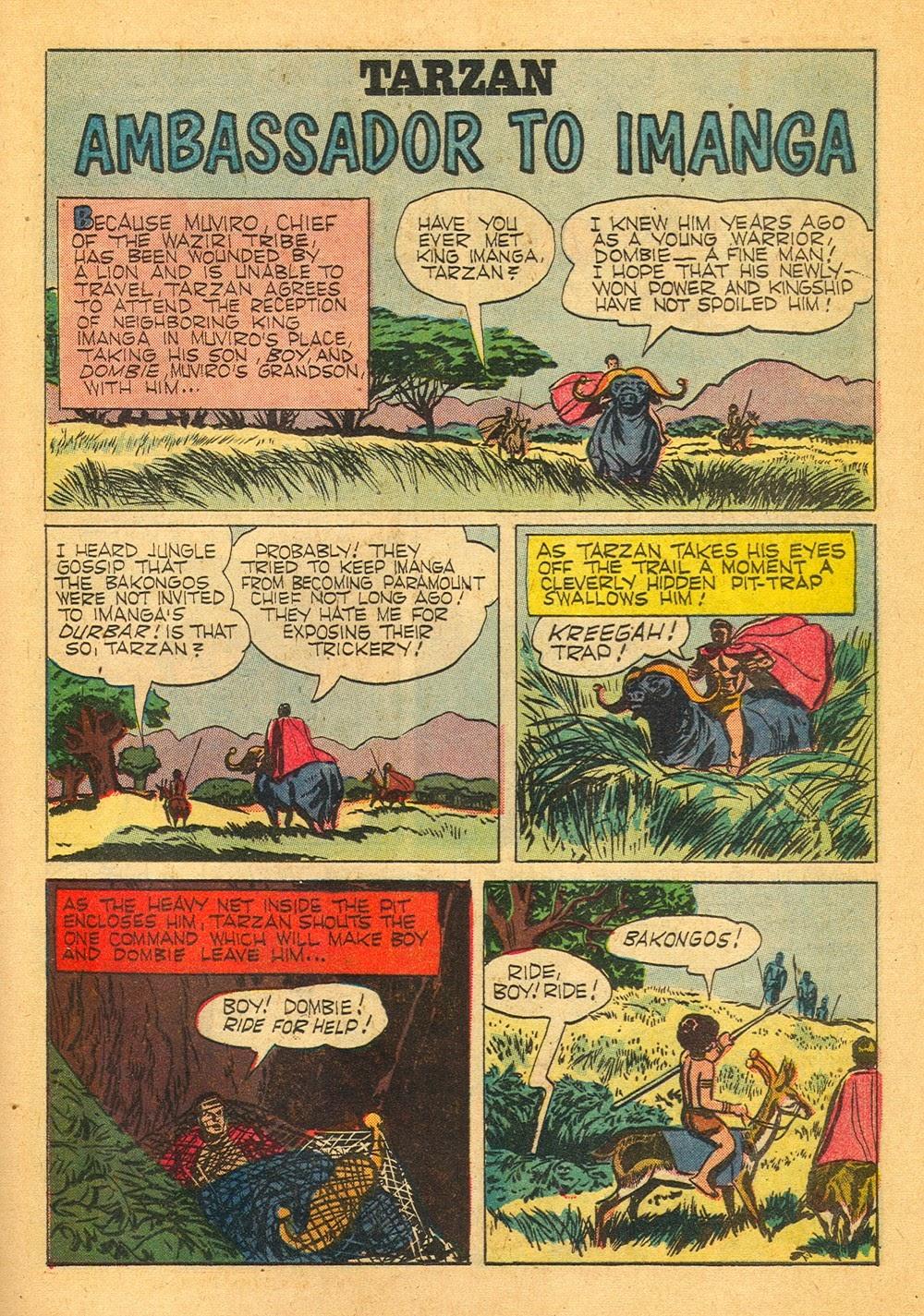 Tarzan (1948) issue 125 - Page 21