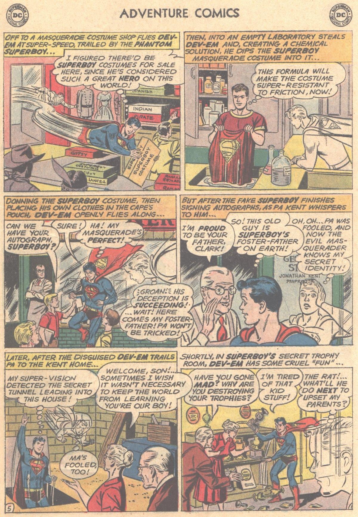 Read online Adventure Comics (1938) comic -  Issue #288 - 7