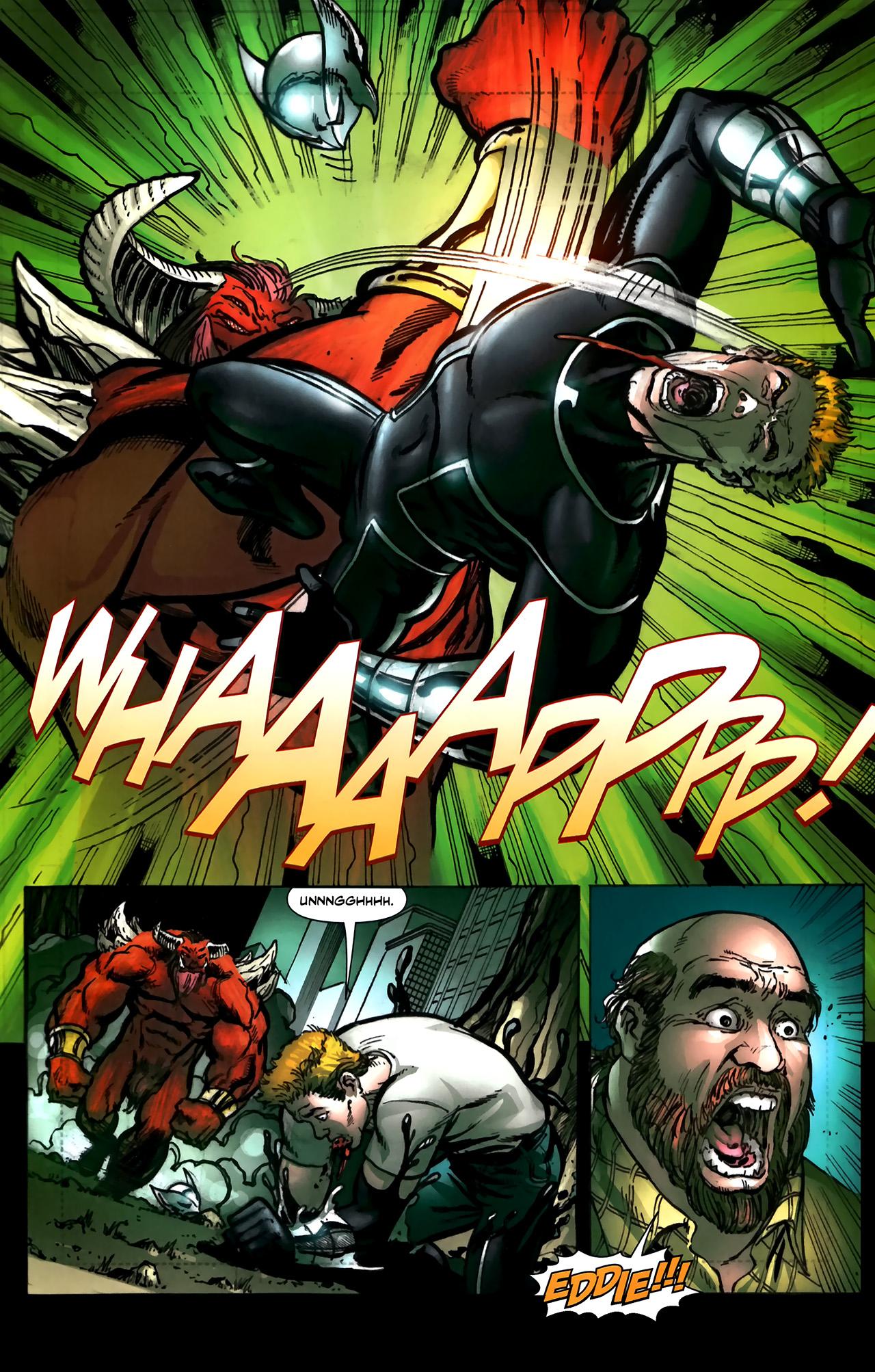 Read online ShadowHawk (2010) comic -  Issue #5 - 16
