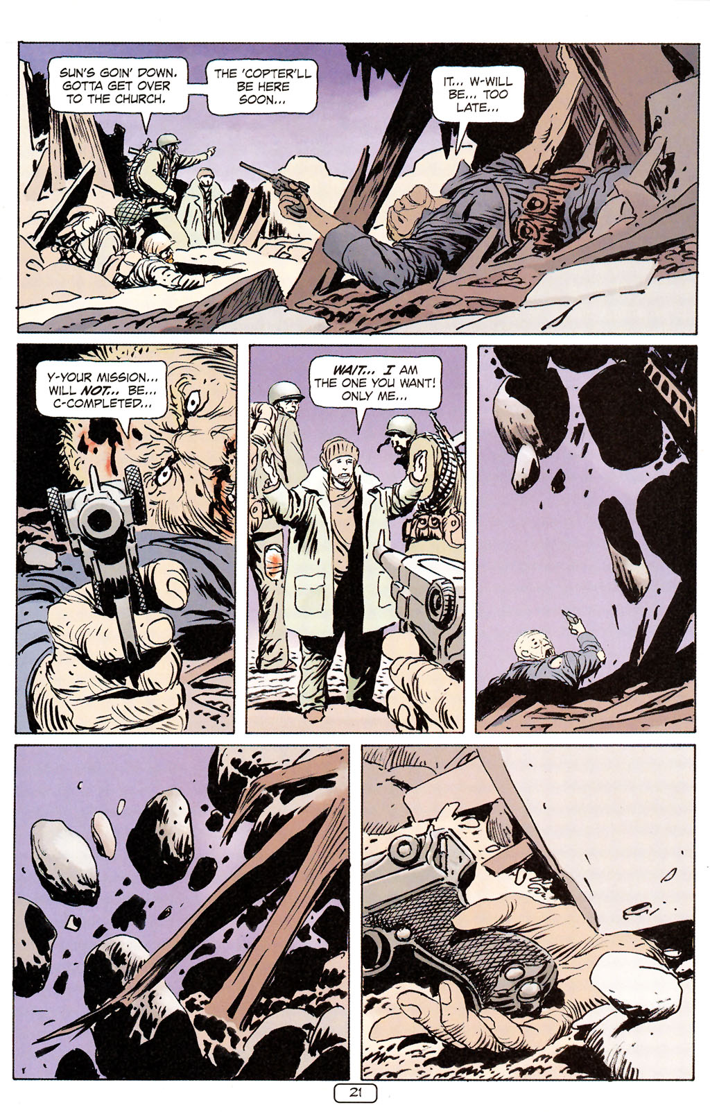 Read online Sgt. Rock: The Prophecy comic -  Issue #6 - 21