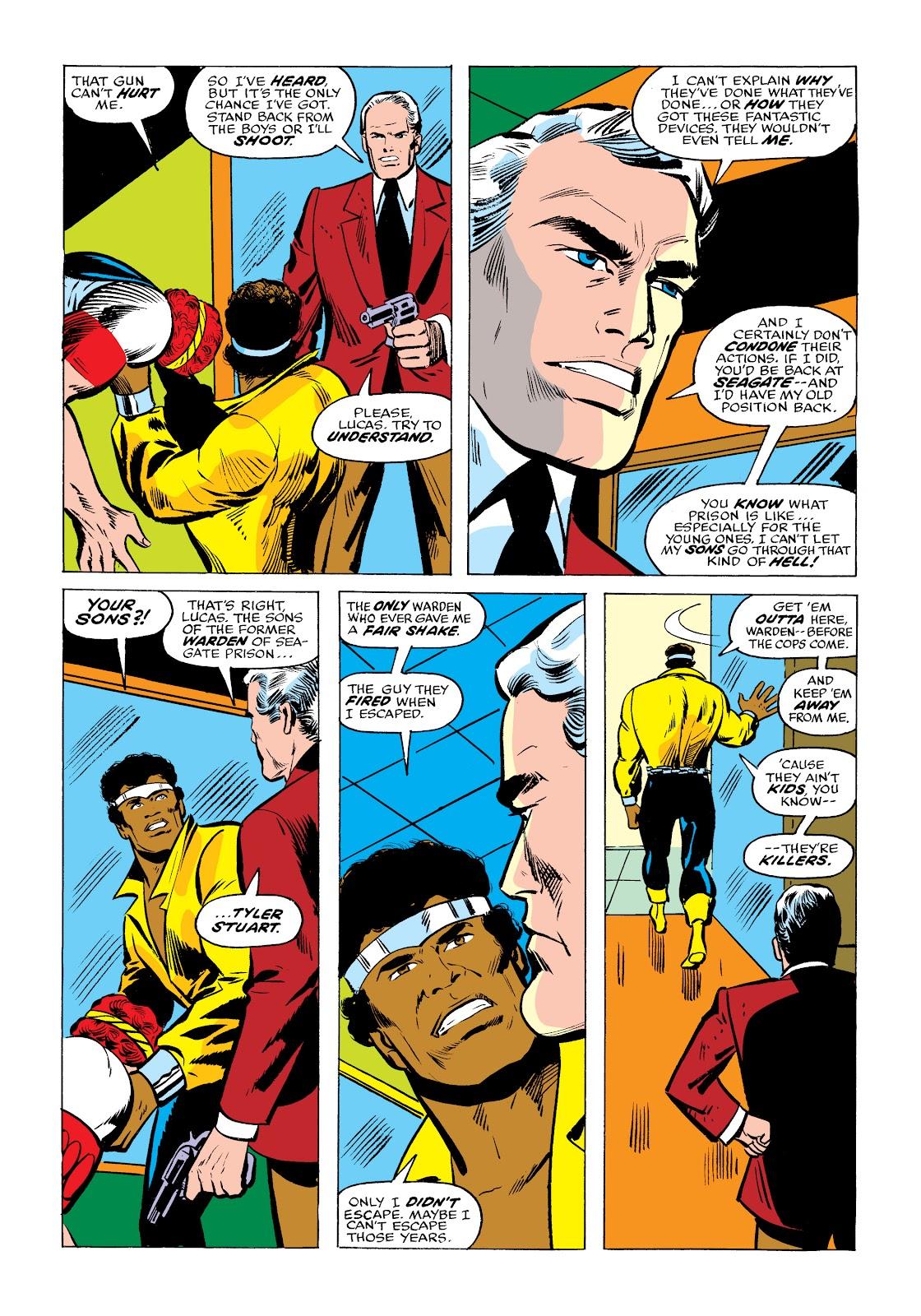 Read online Marvel Masterworks: Luke Cage, Power Man comic -  Issue # TPB 2 (Part 2) - 23