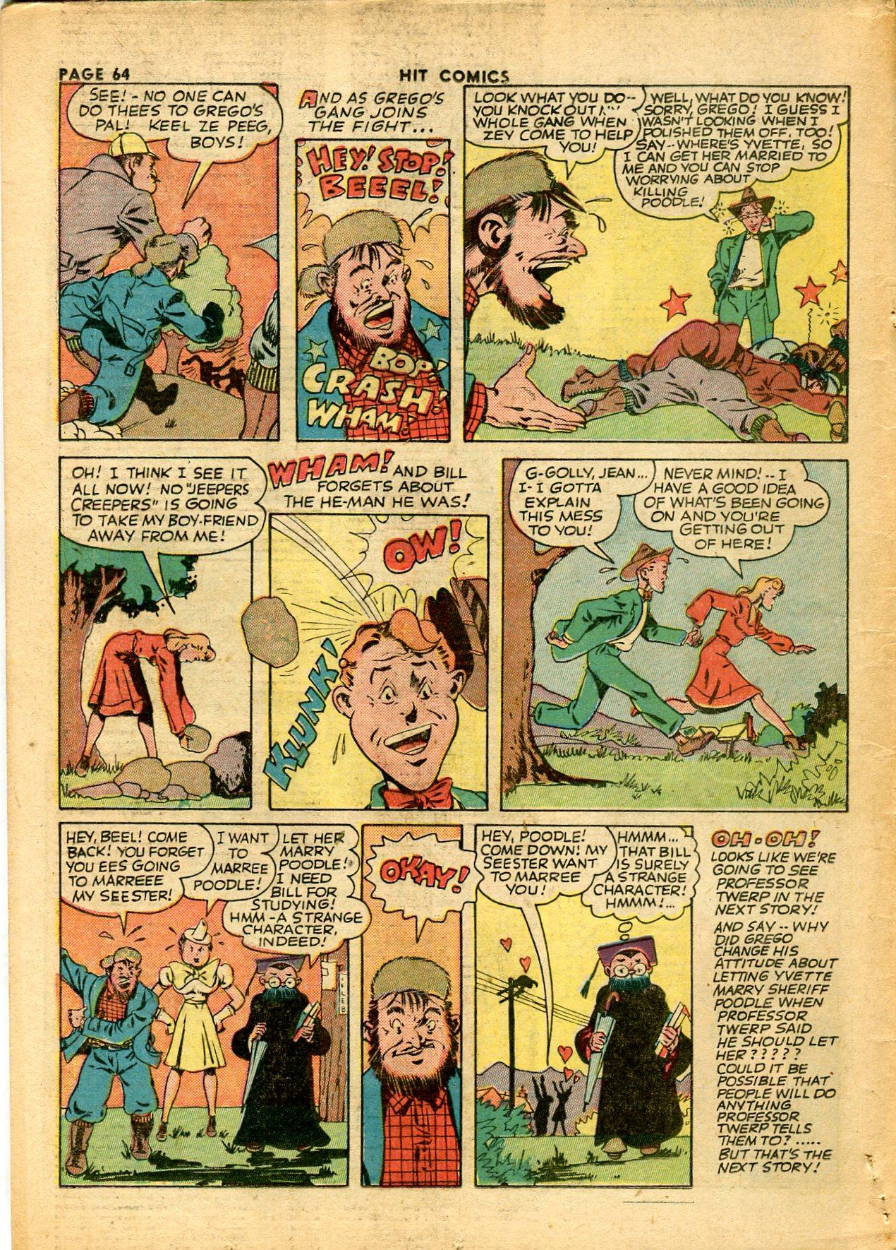 Read online Hit Comics comic -  Issue #28 - 67