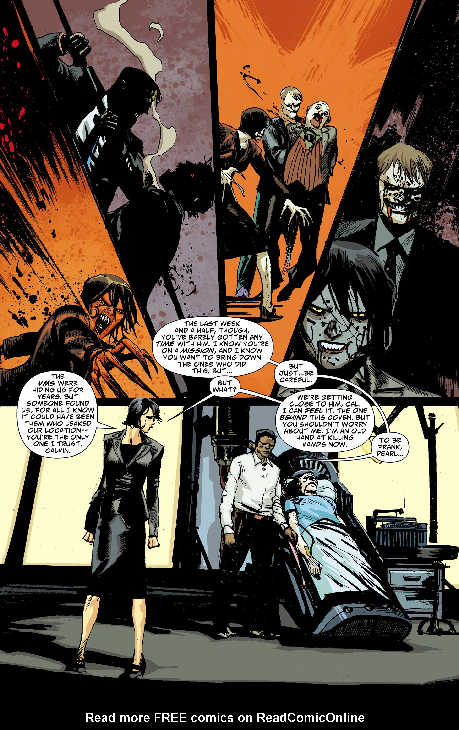 Read online American Vampire comic -  Issue #30 - 7