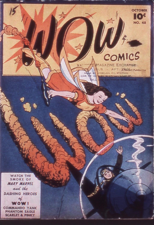 Wow Comics 48 Page 1
