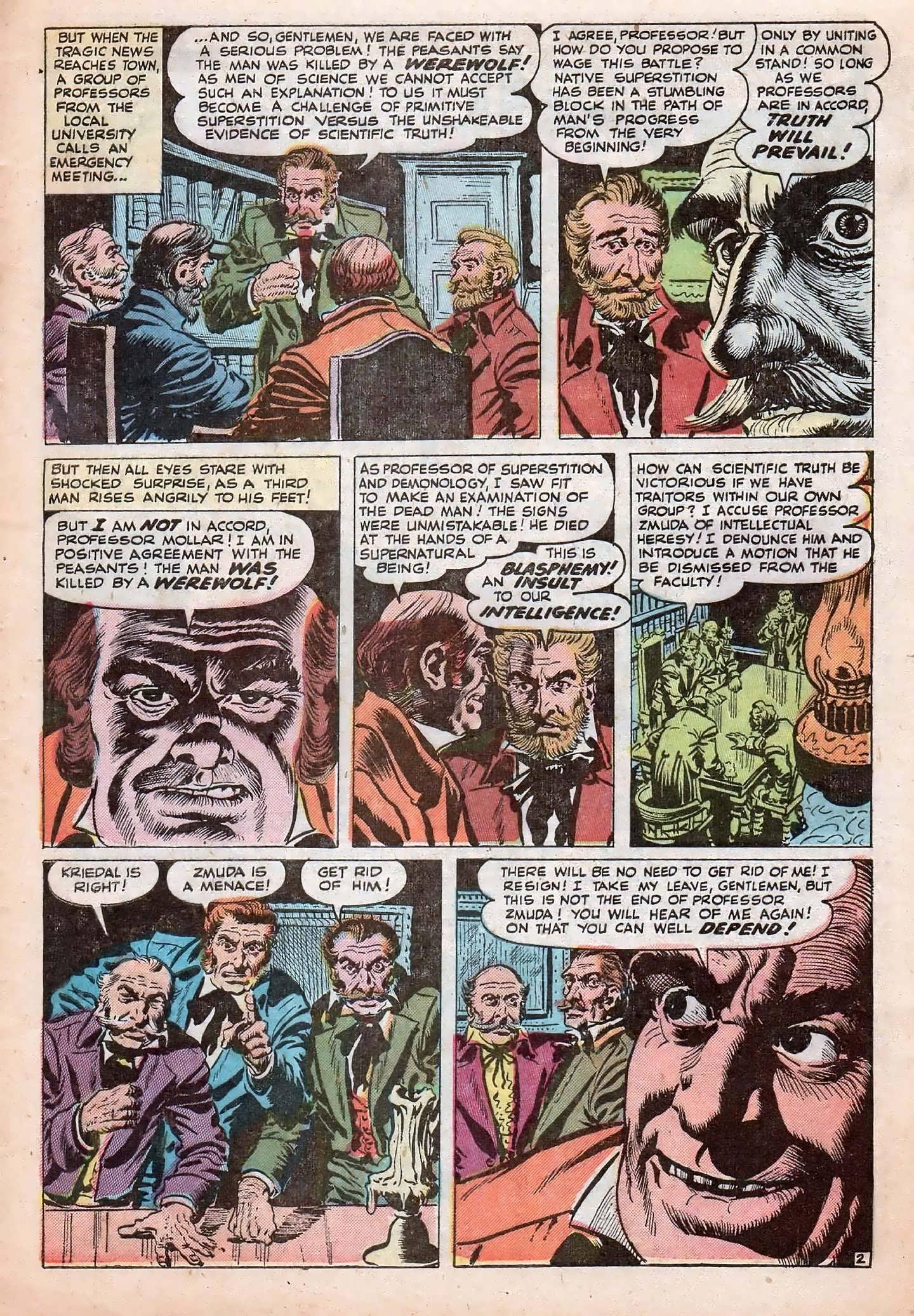 Read online Adventures into Weird Worlds comic -  Issue #20 - 29
