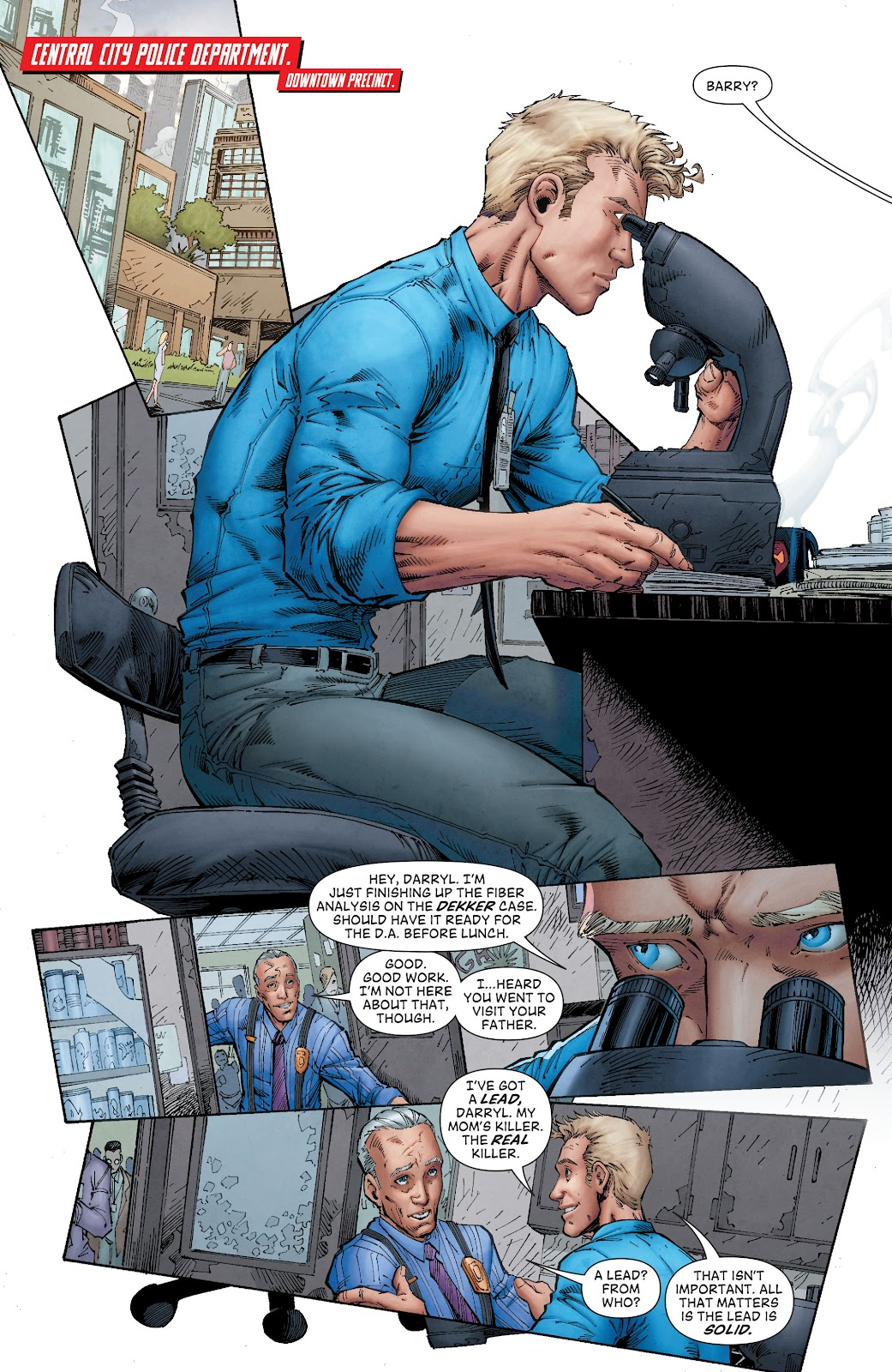 Read online The Flash (2011) comic -  Issue # _TPB 8 (Part 1) - 16