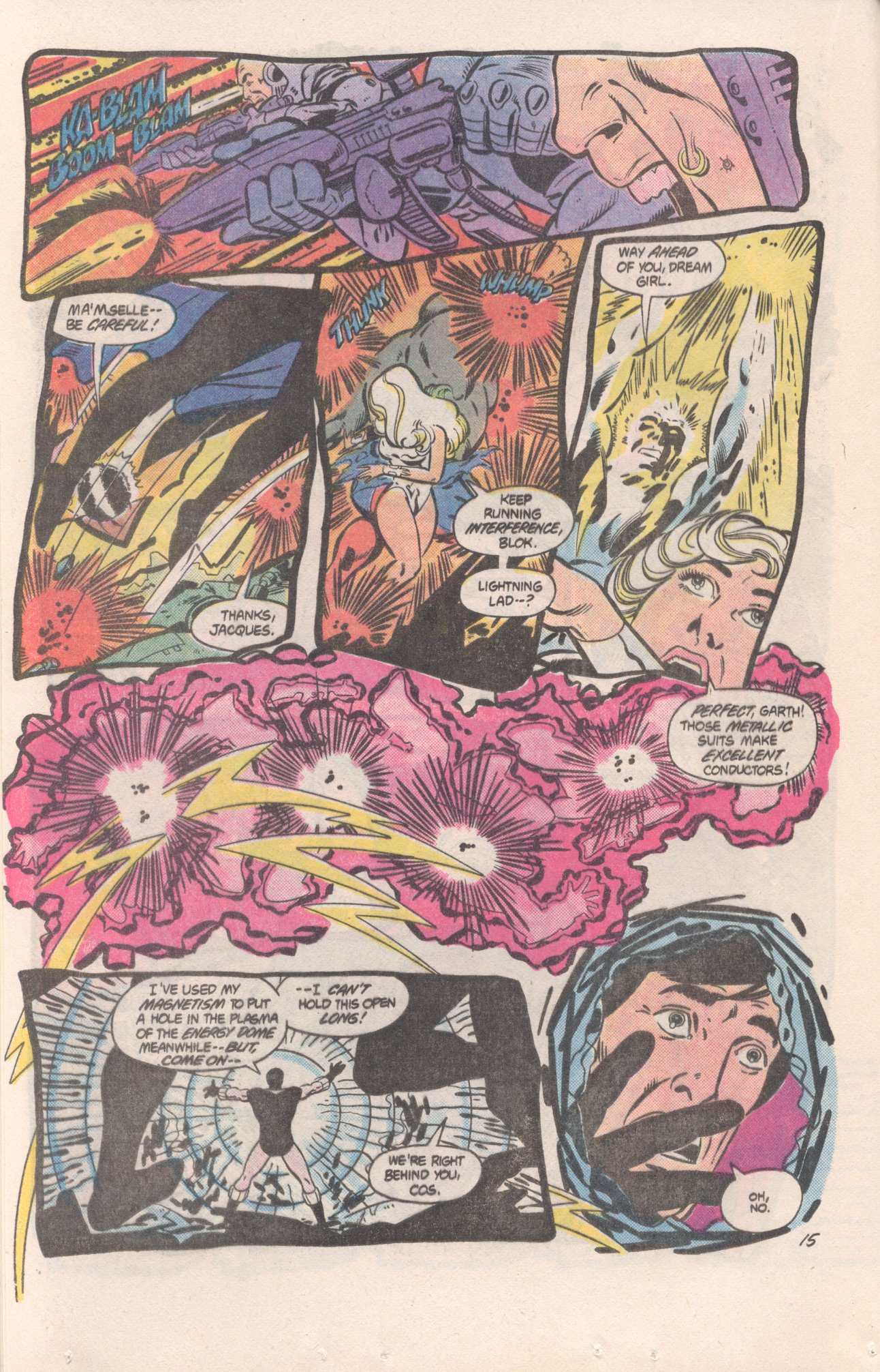 Legion of Super-Heroes (1980) 310 Page 15