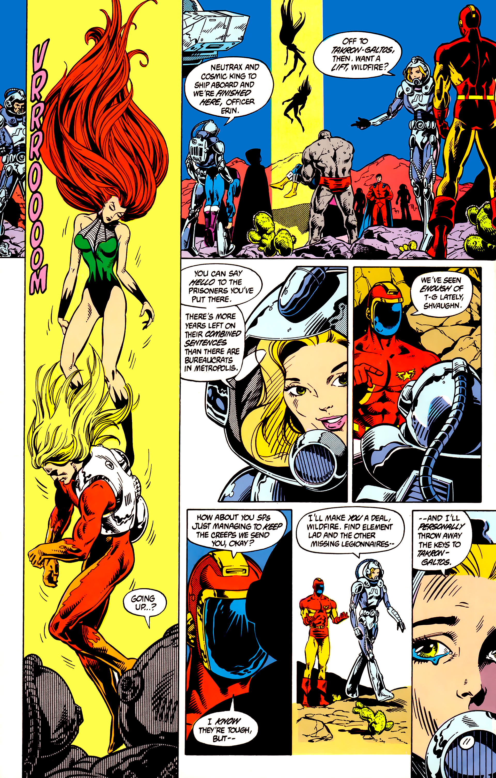 Legion of Super-Heroes (1984) 8 Page 12