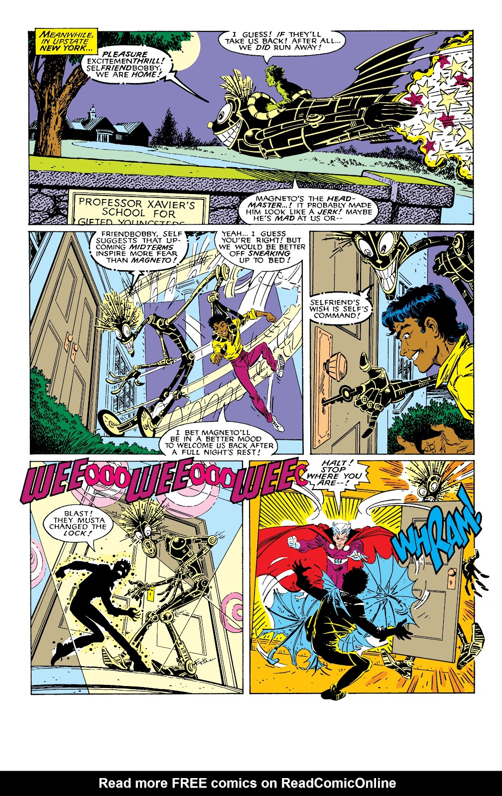 Read online X-Men Milestones: Fall of the Mutants comic -  Issue # TPB (Part 2) - 1