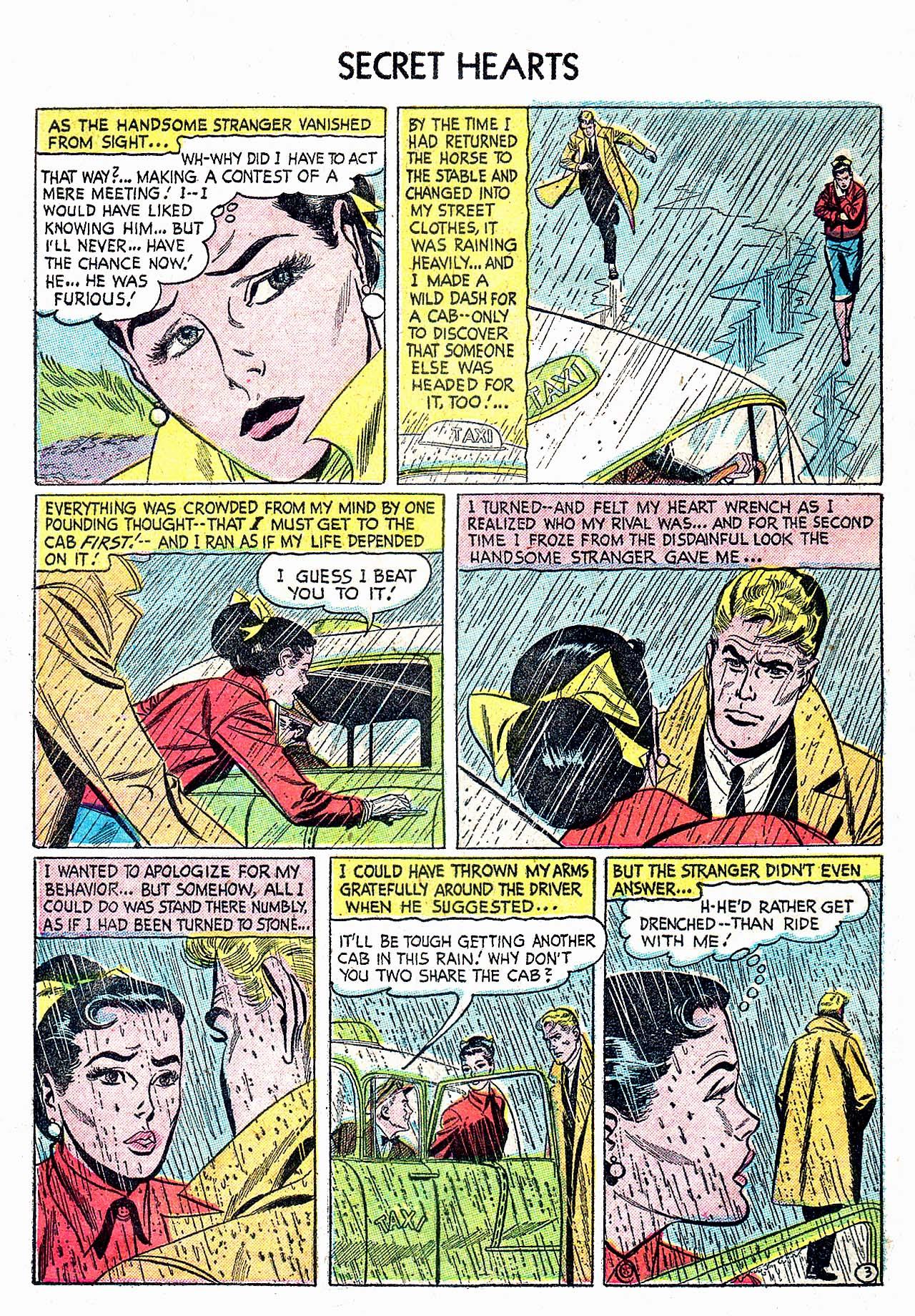 Read online Secret Hearts comic -  Issue #32 - 28