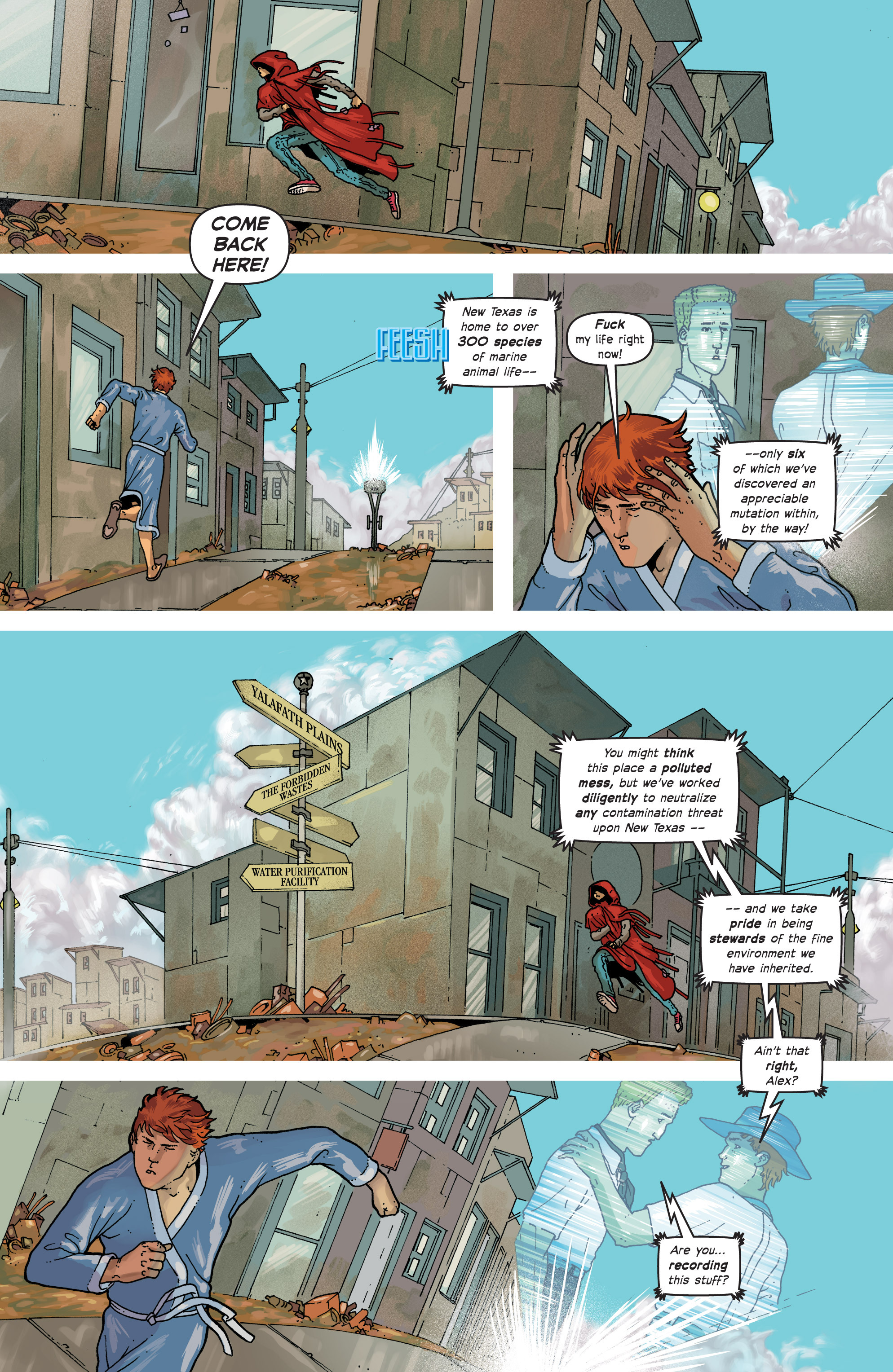 Read online Great Pacific comic -  Issue #7 - 9