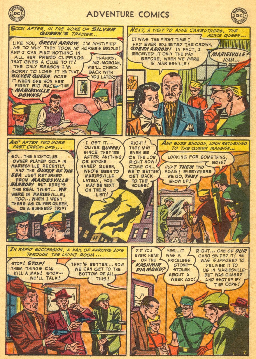 Read online Adventure Comics (1938) comic -  Issue #203 - 40