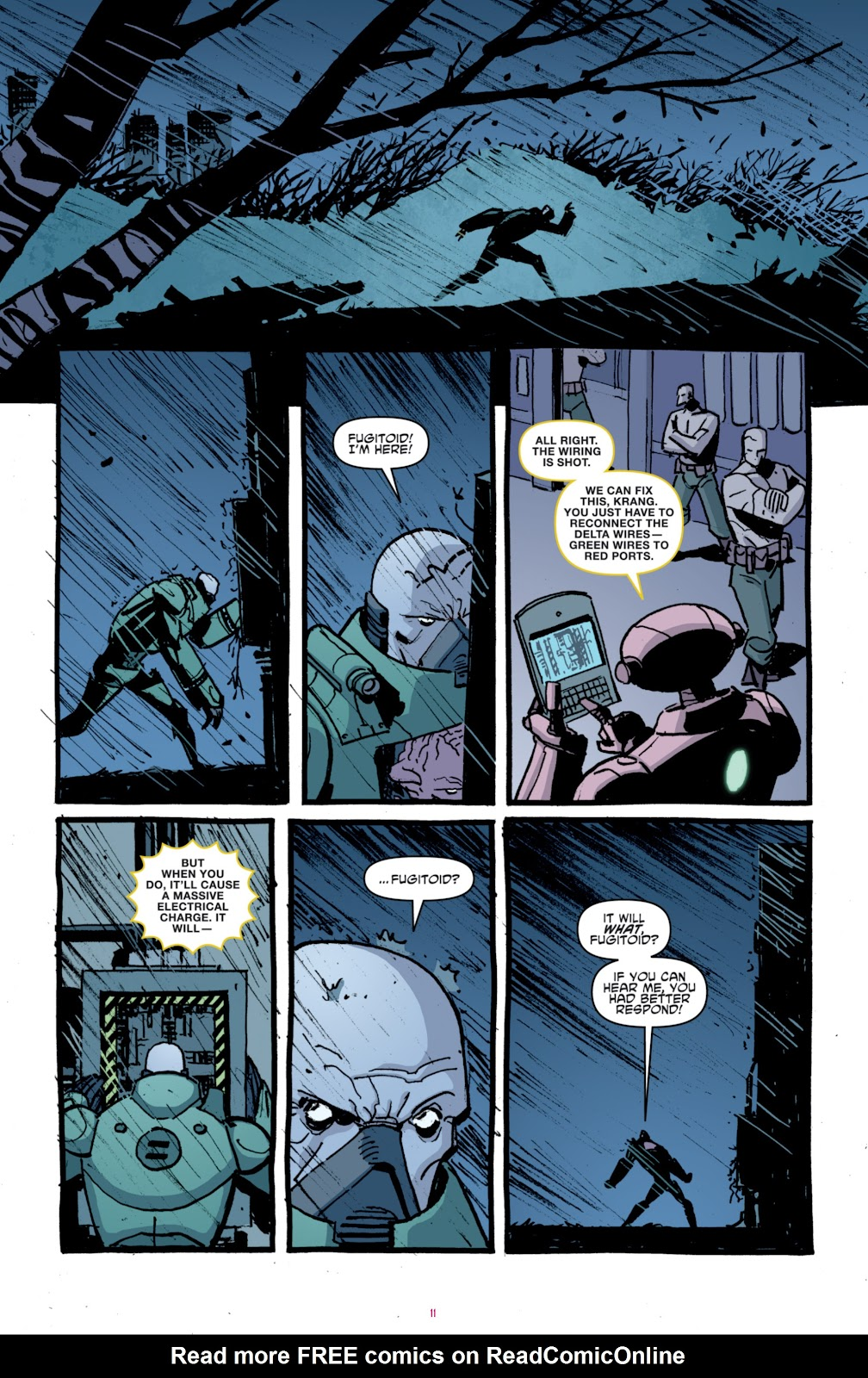 Read online Teenage Mutant Ninja Turtles: The IDW Collection comic -  Issue # TPB 4 (Part 1) - 86