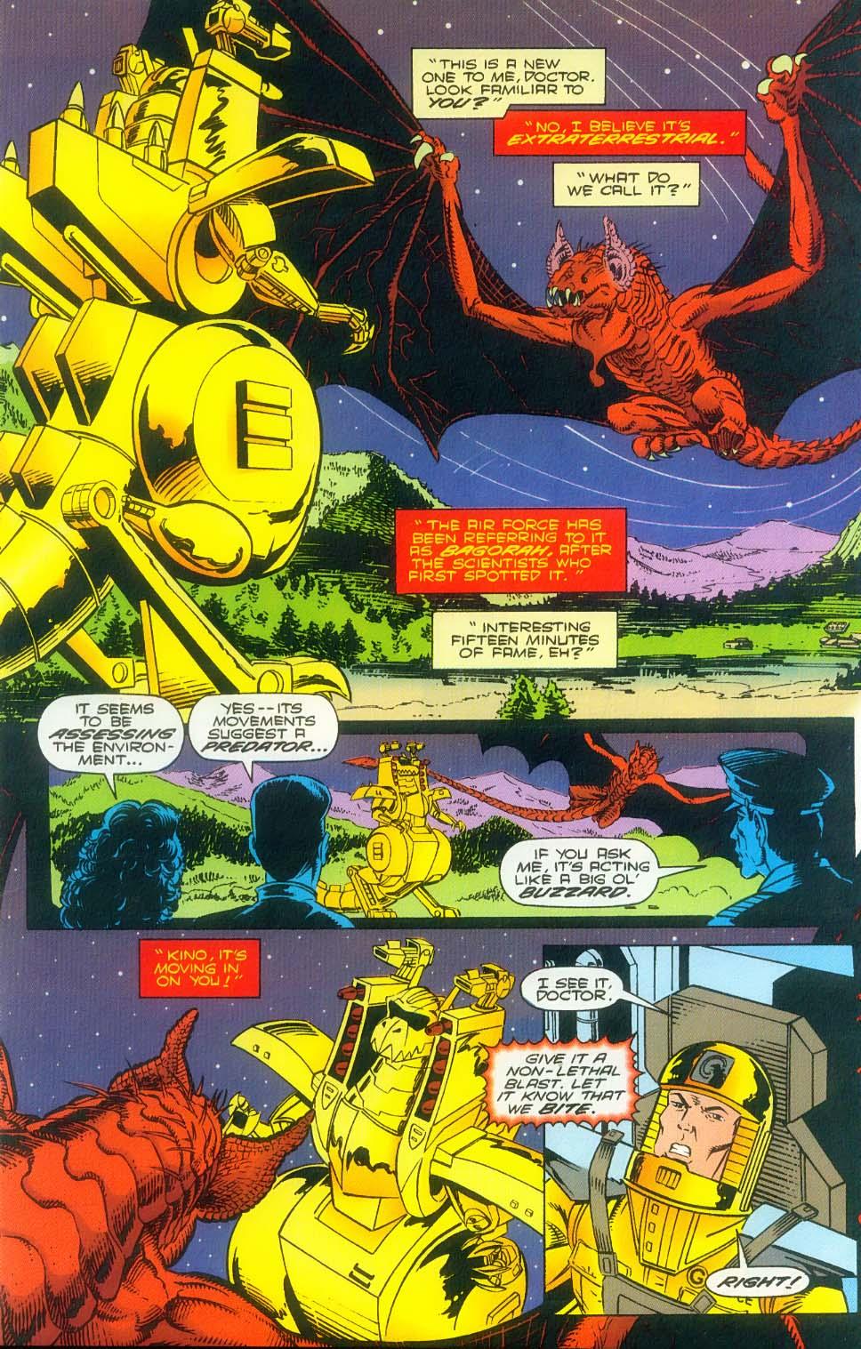 Godzilla (1995) Issue #3 #4 - English 13