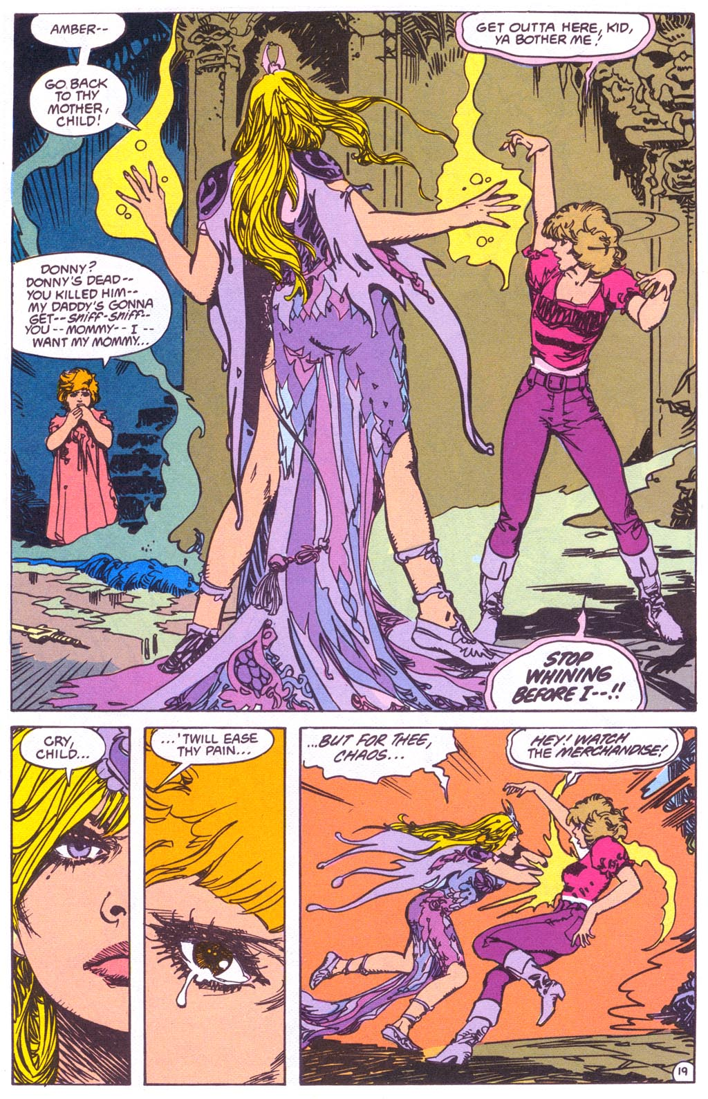 Read online Amethyst (1987) comic -  Issue #3 - 21