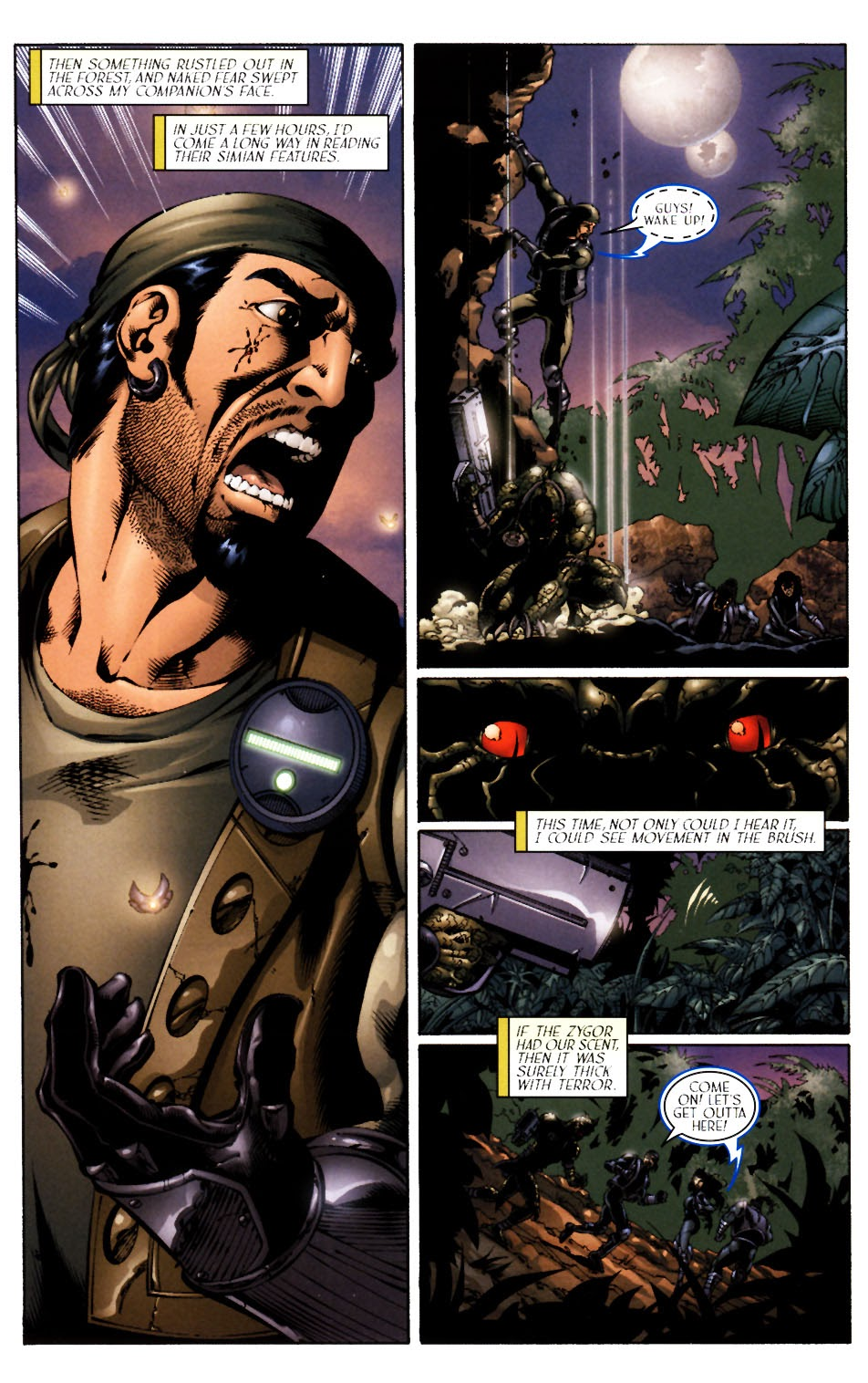 Read online Saurians: Unnatural Selection comic -  Issue #1 - 16