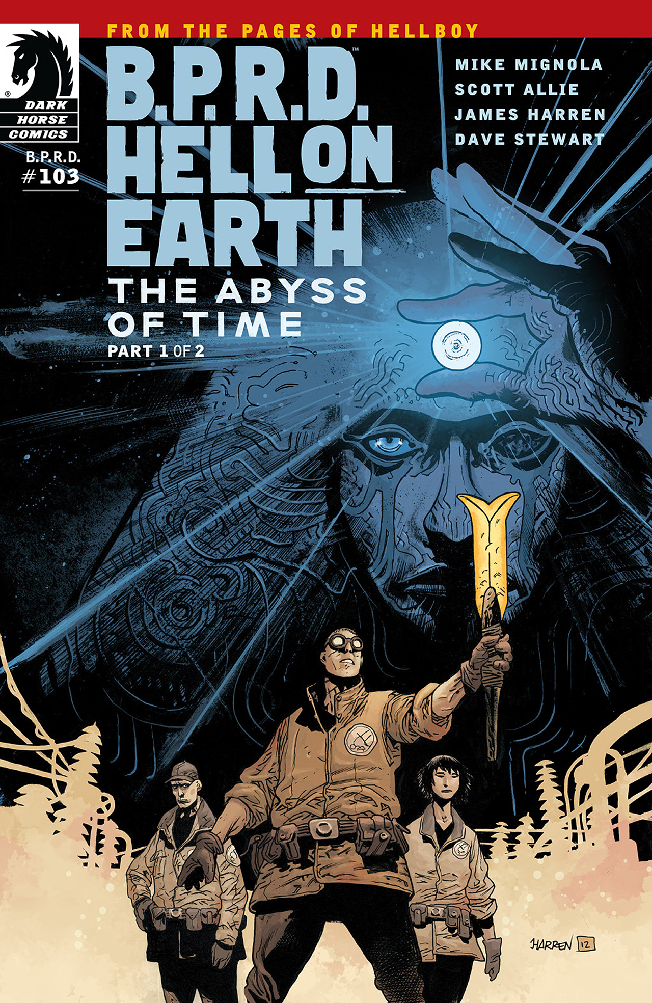 Read online B.P.R.D. Hell on Earth: The Abyss of Time comic -  Issue #103 - 1
