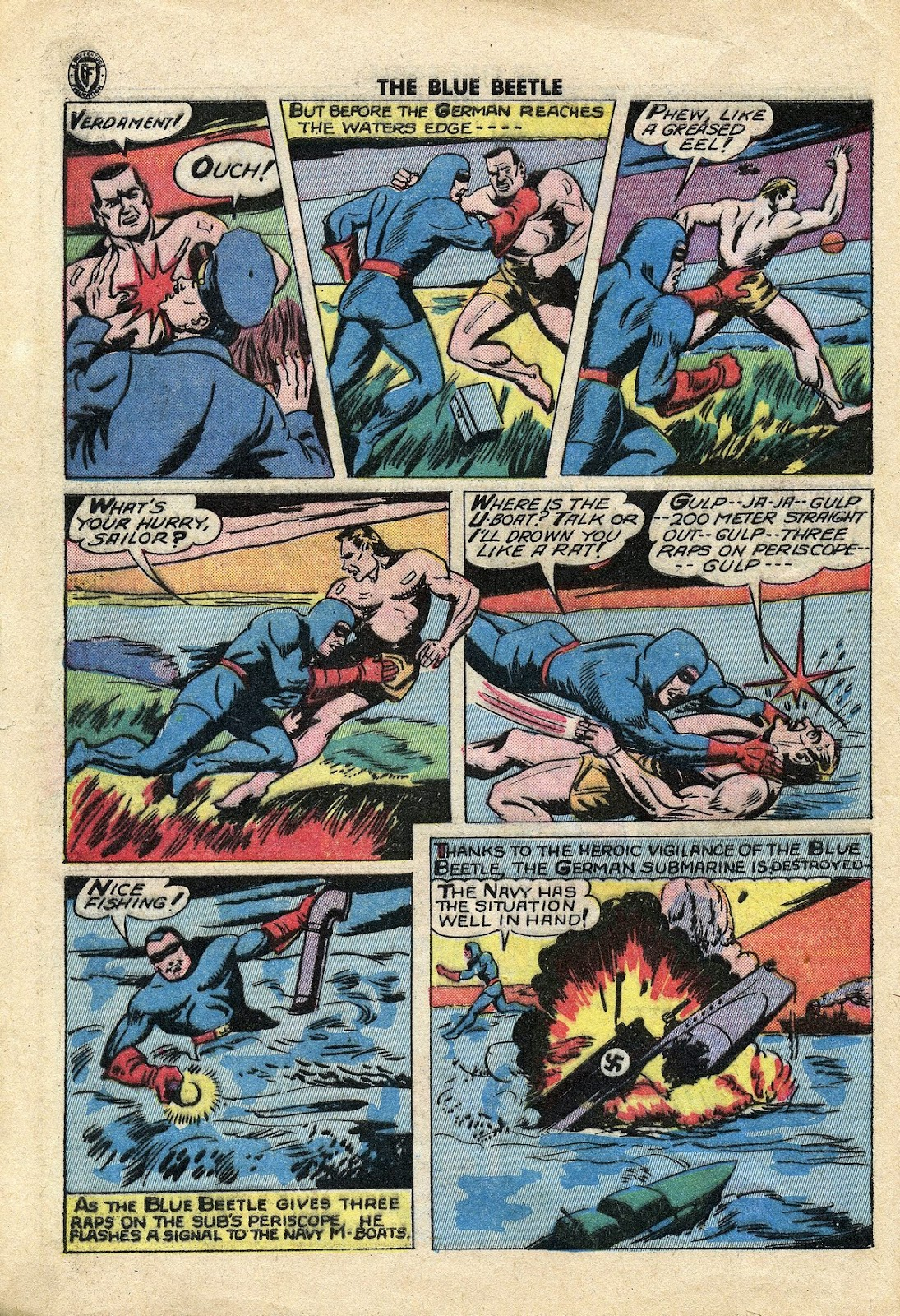 The Blue Beetle issue 34 - Page 11