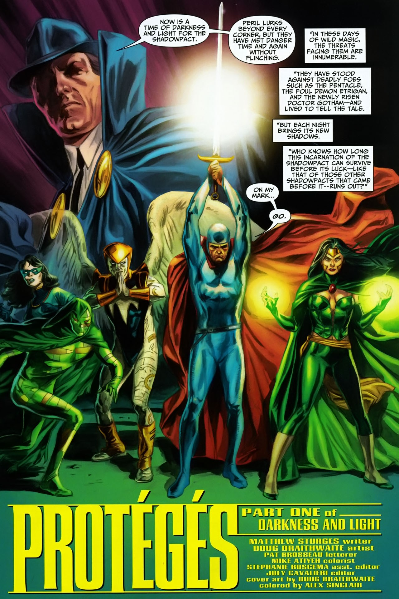 Read online Shadowpact comic -  Issue #17 - 2