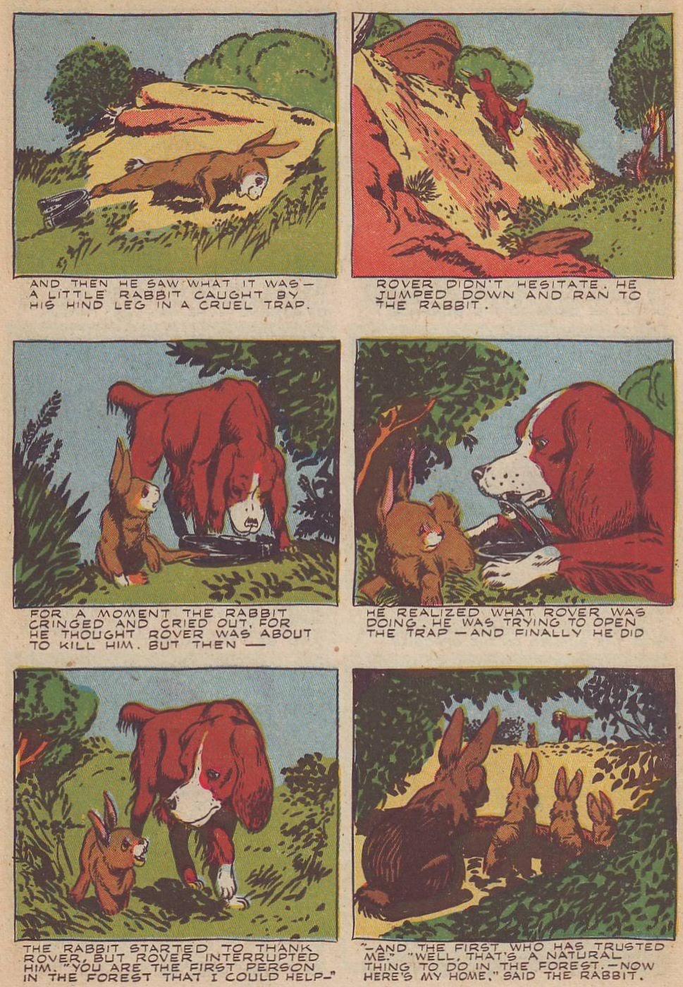 Read online Animal Comics comic -  Issue #20 - 30