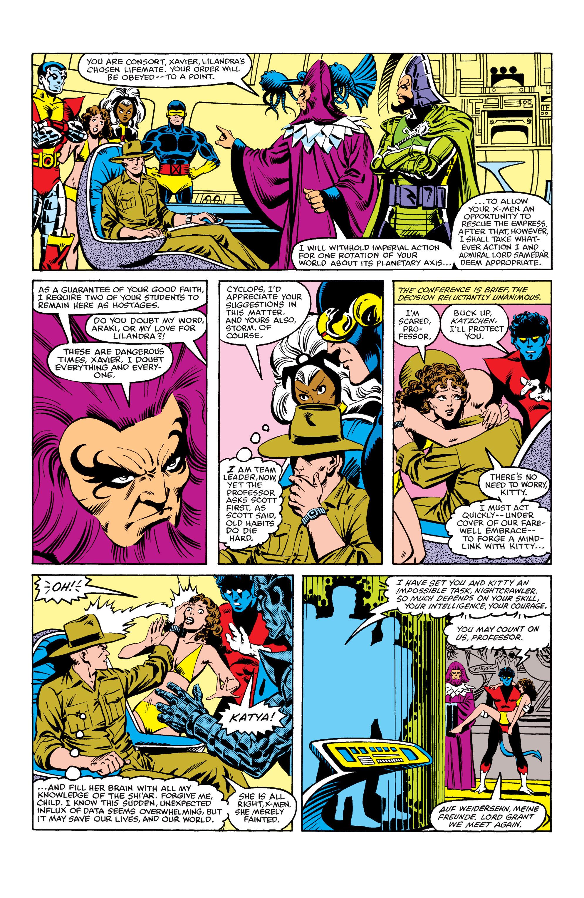 Read online Uncanny X-Men (1963) comic -  Issue #155 - 7