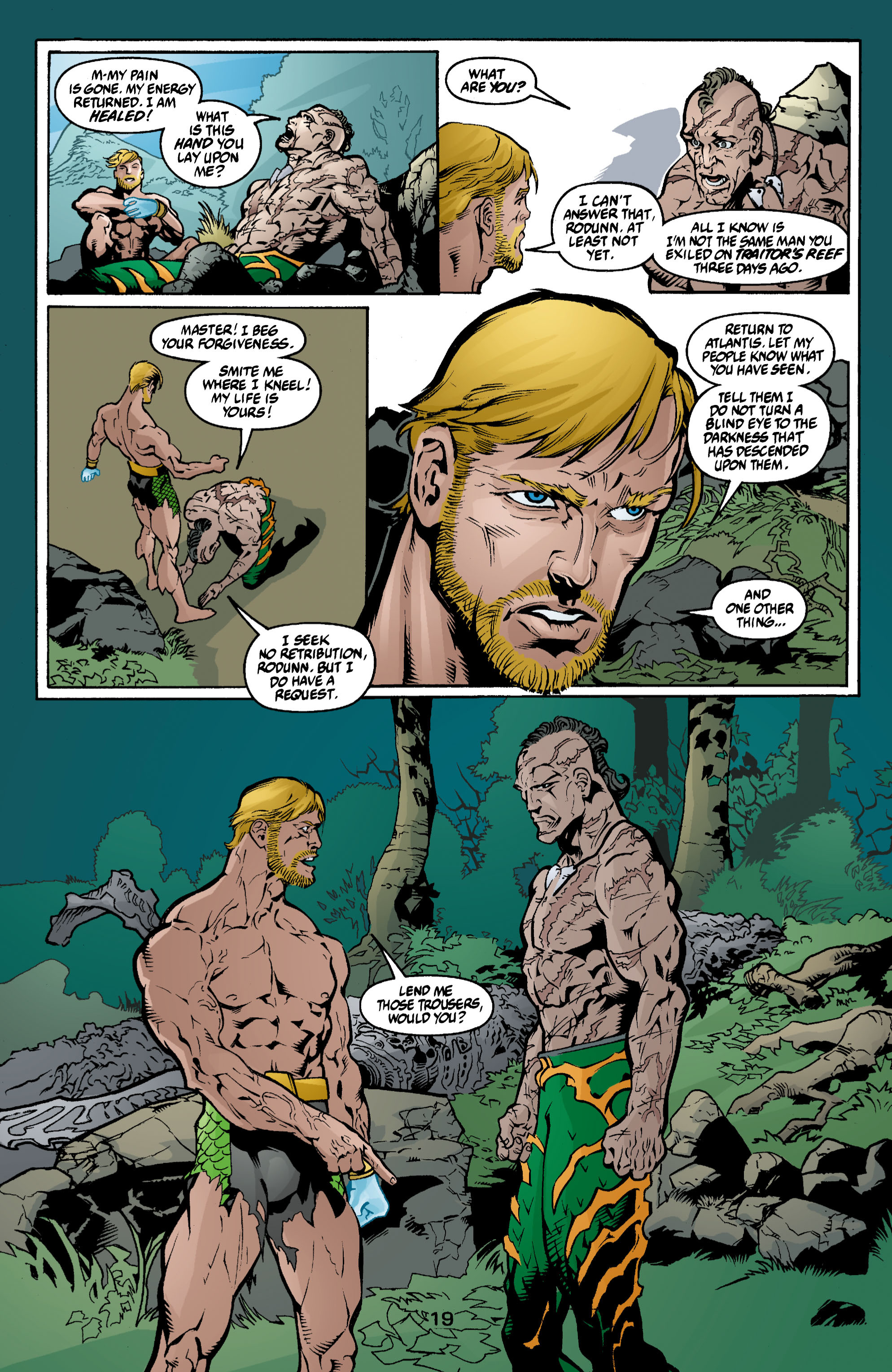 Read online Aquaman (2003) comic -  Issue #3 - 19