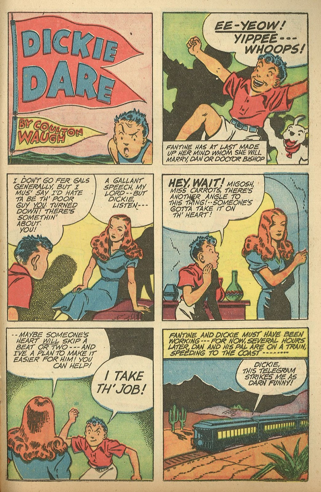 Read online Famous Funnies comic -  Issue #148 - 29