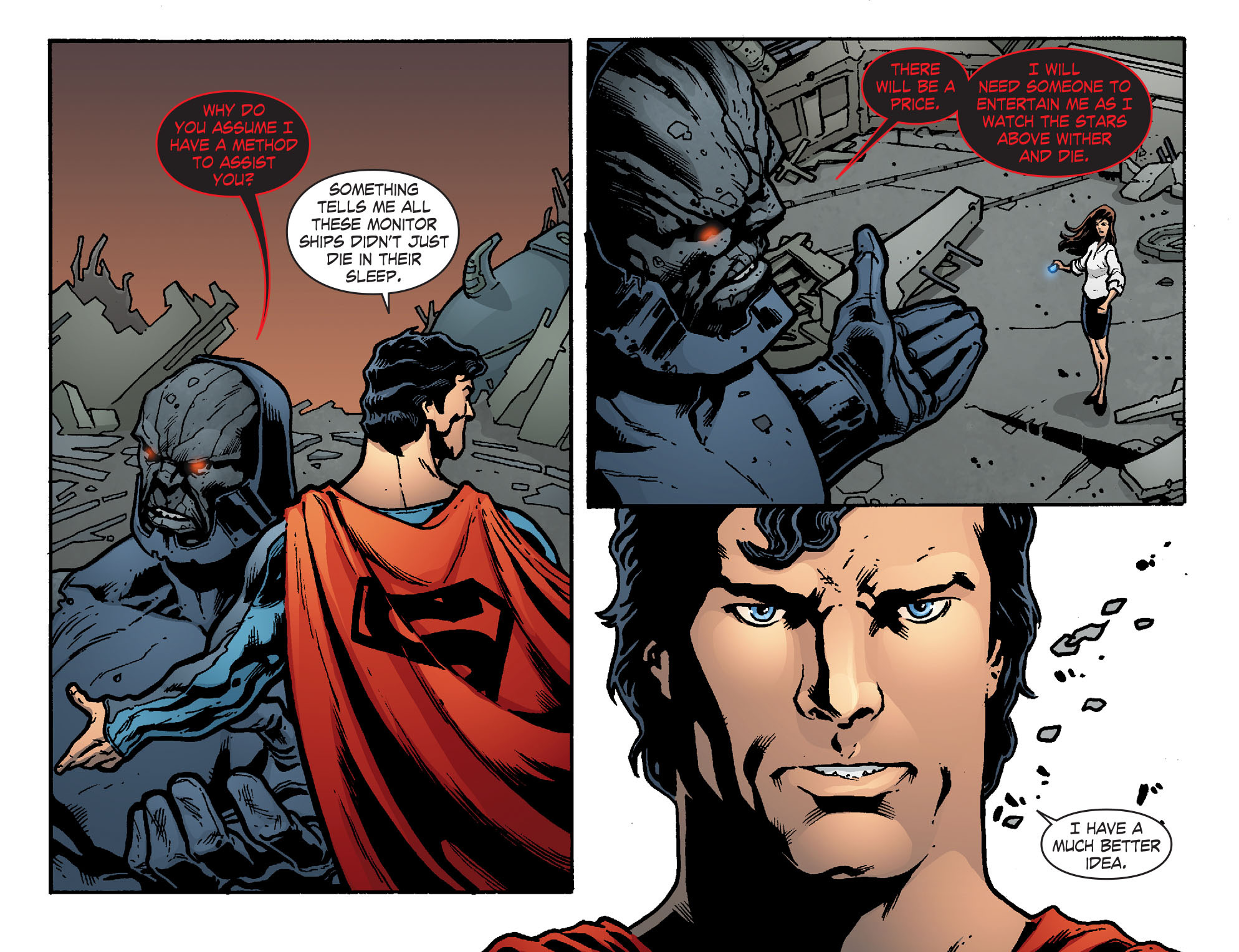 Read online Smallville: Chaos [II] comic -  Issue #8 - 16